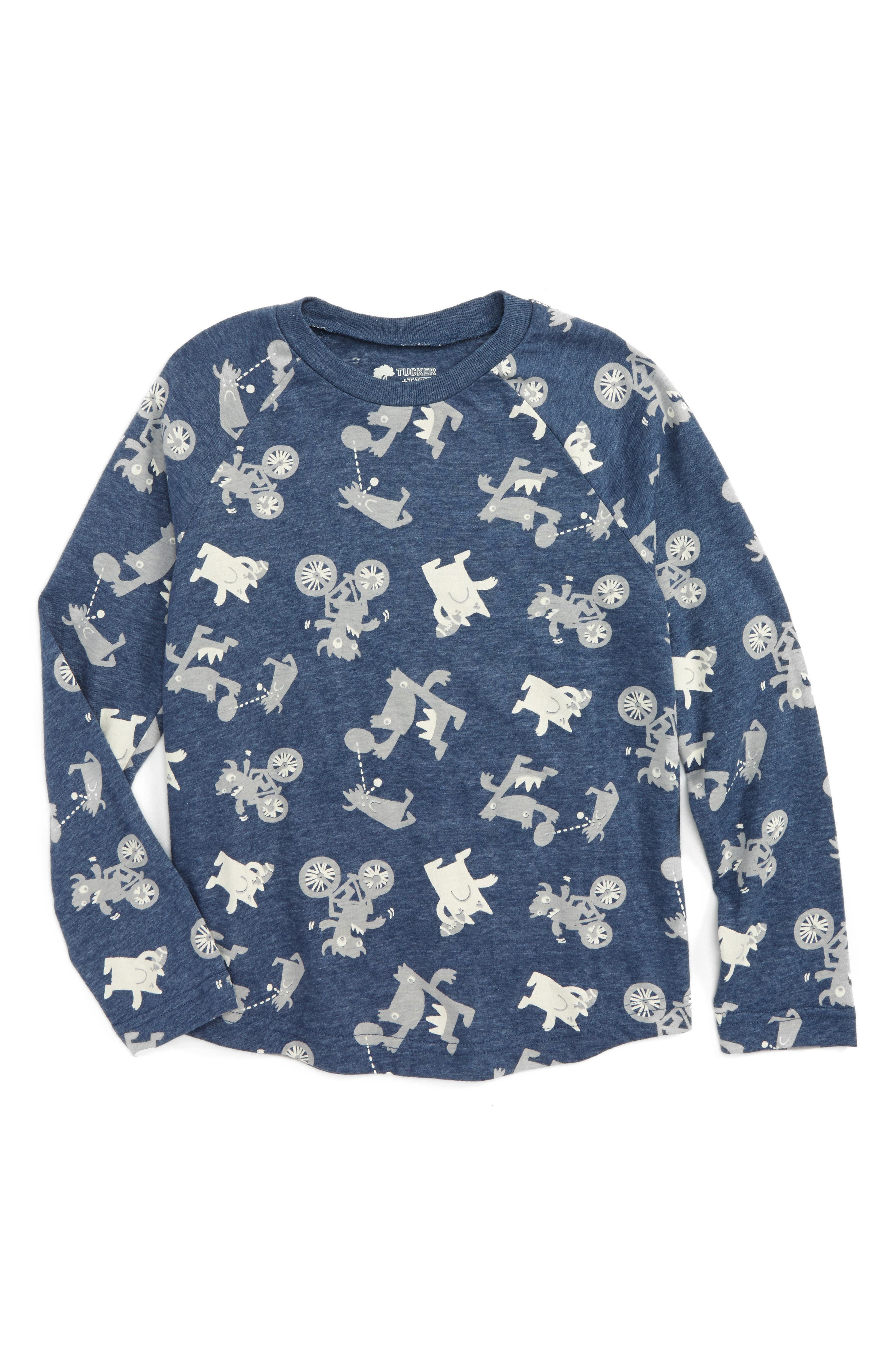 Alternate Image 1 Selected - Tucker + Tate Graphic T-Shirt (Toddler Boys & Little Boys)