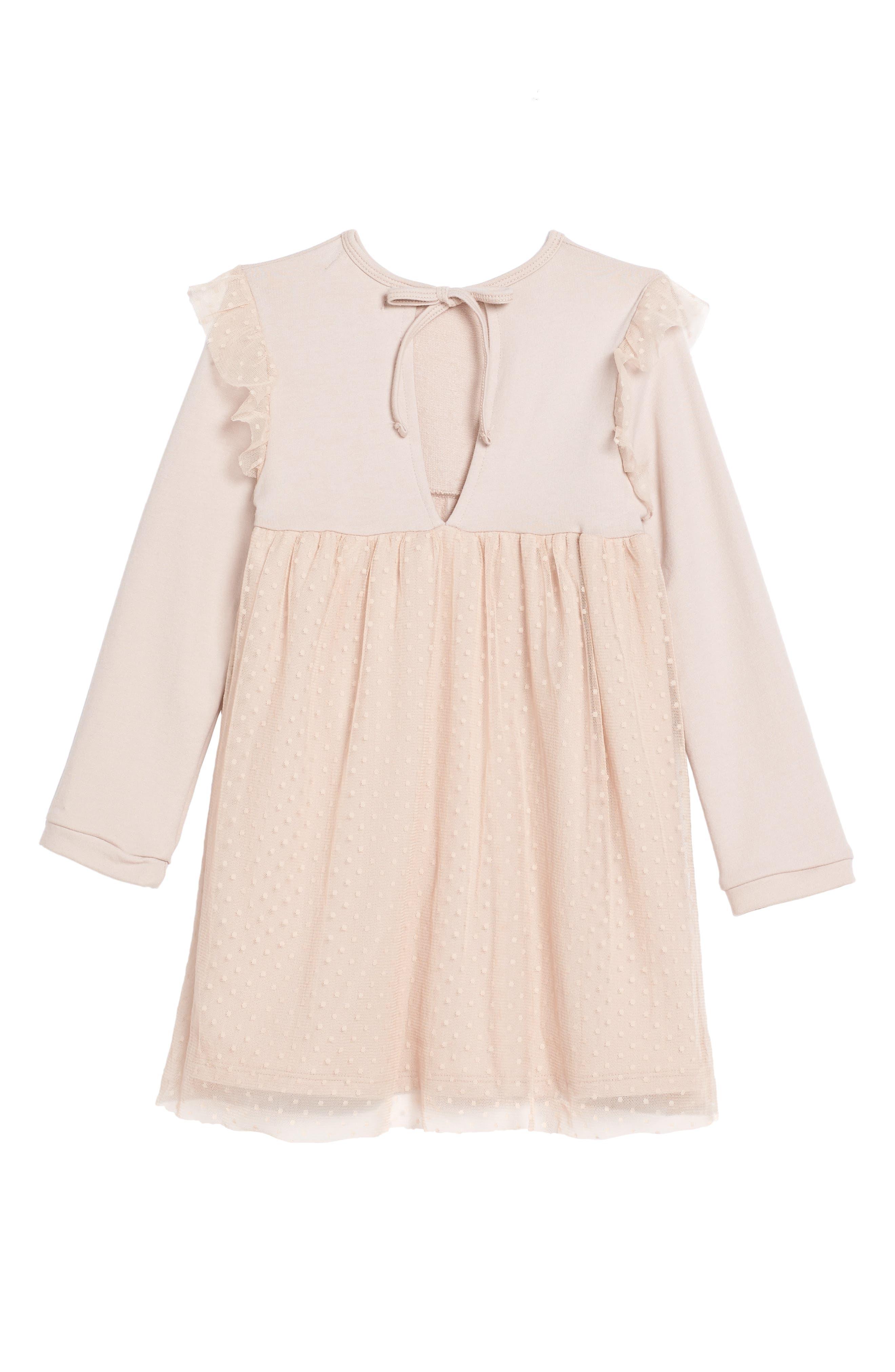 Alternate Image 2  - Lil Lemons by For Love & Lemons Ballerina Tulle Dress (Toddler Girls & Little Girls)