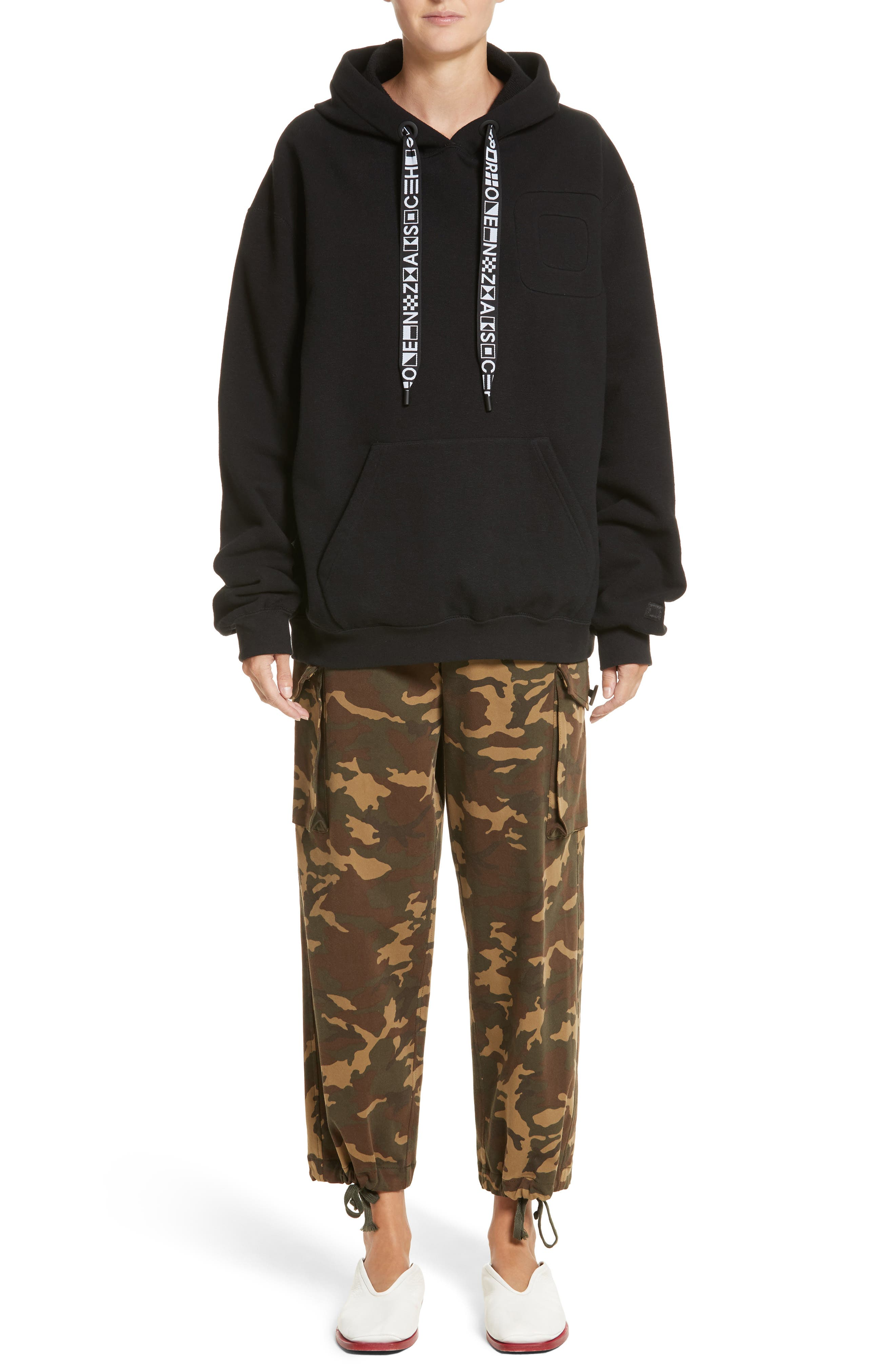 Alternate Image 6  - Proenza Schouler PSWL Camouflage Stretch Cotton Pants