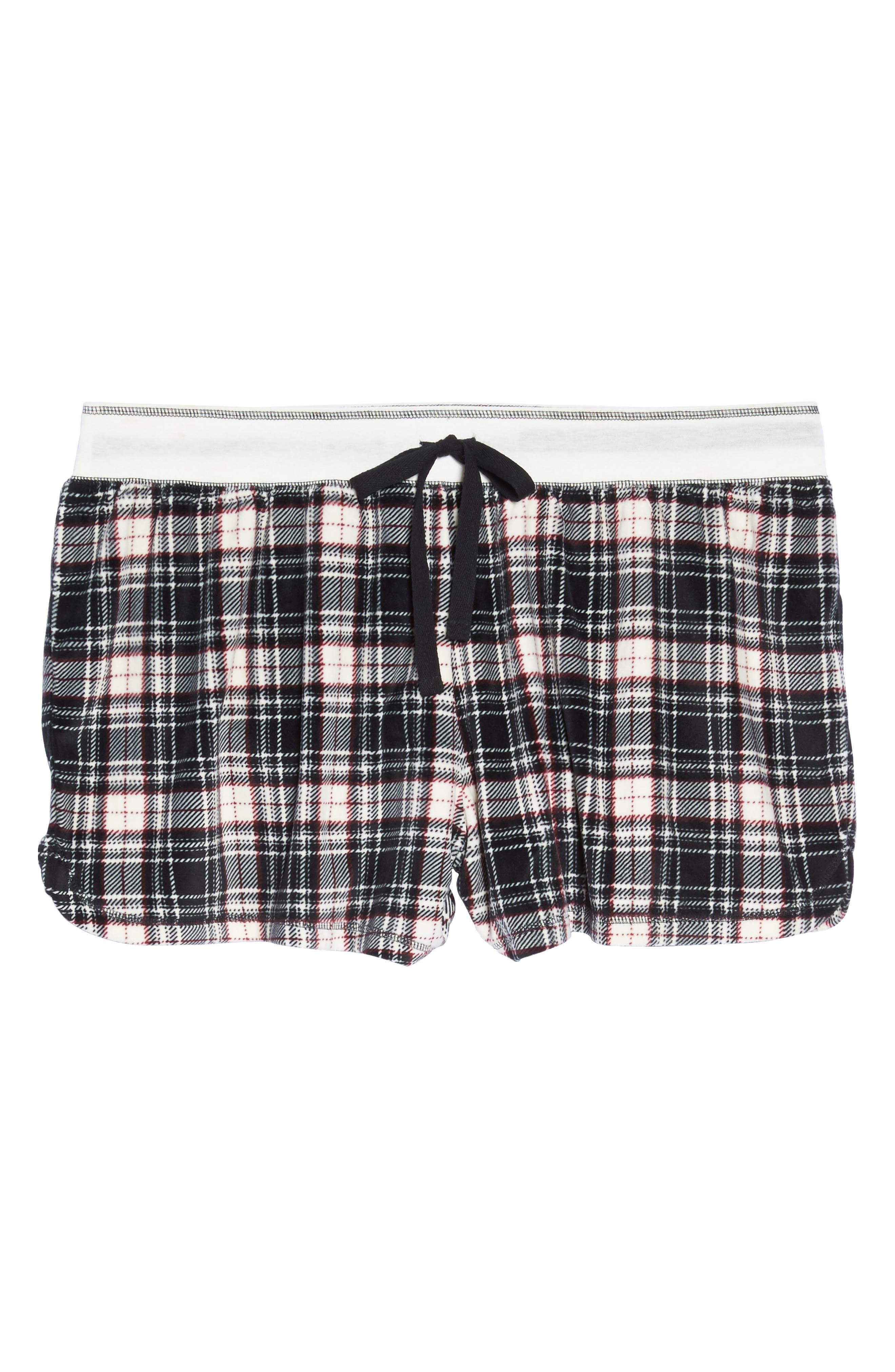 Alternate Image 4  - PJ Salvage Velour Shorts (Plus Size)