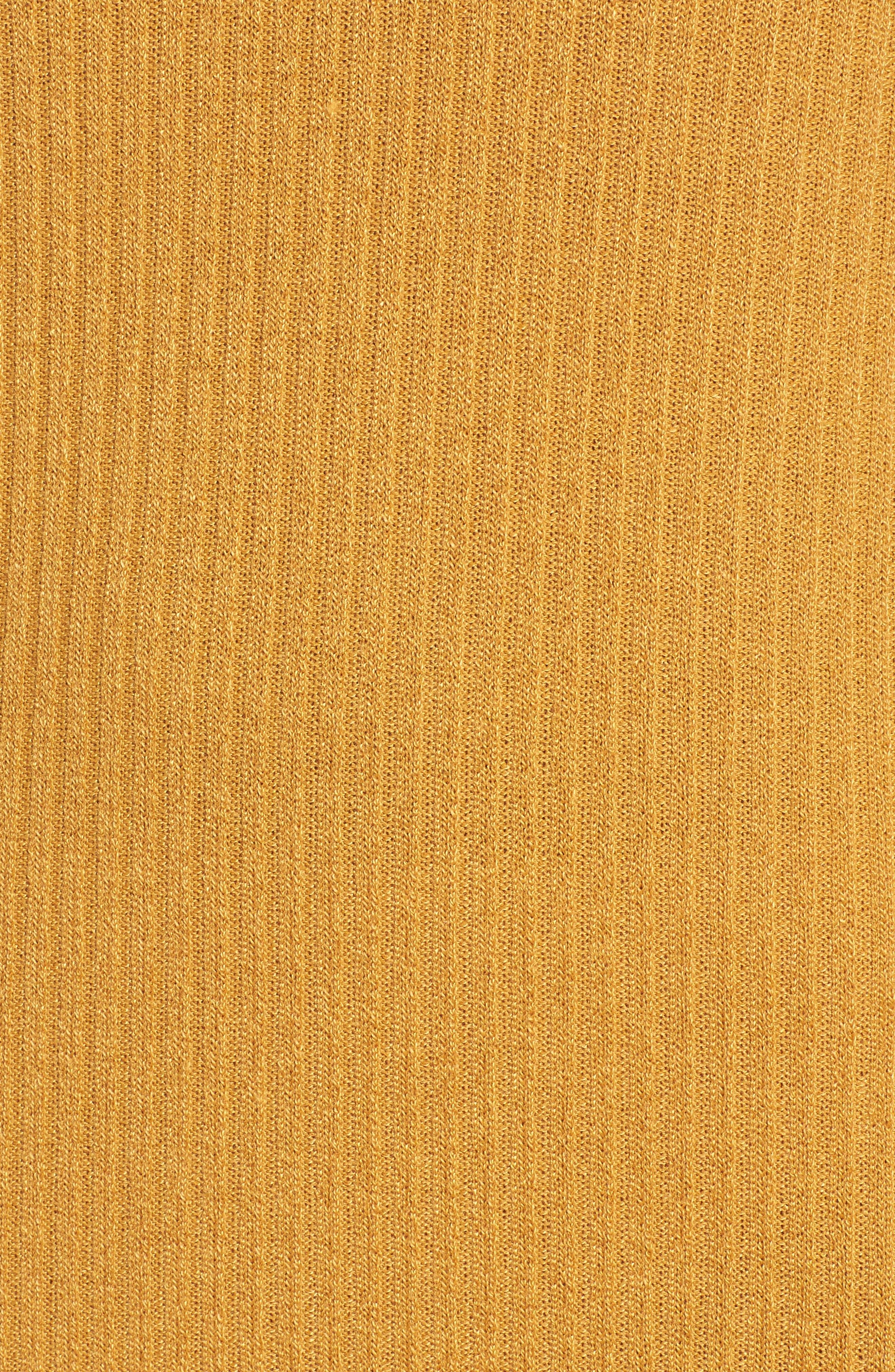 Maven Thermal Dress,                             Alternate thumbnail 5, color,                             Mustard