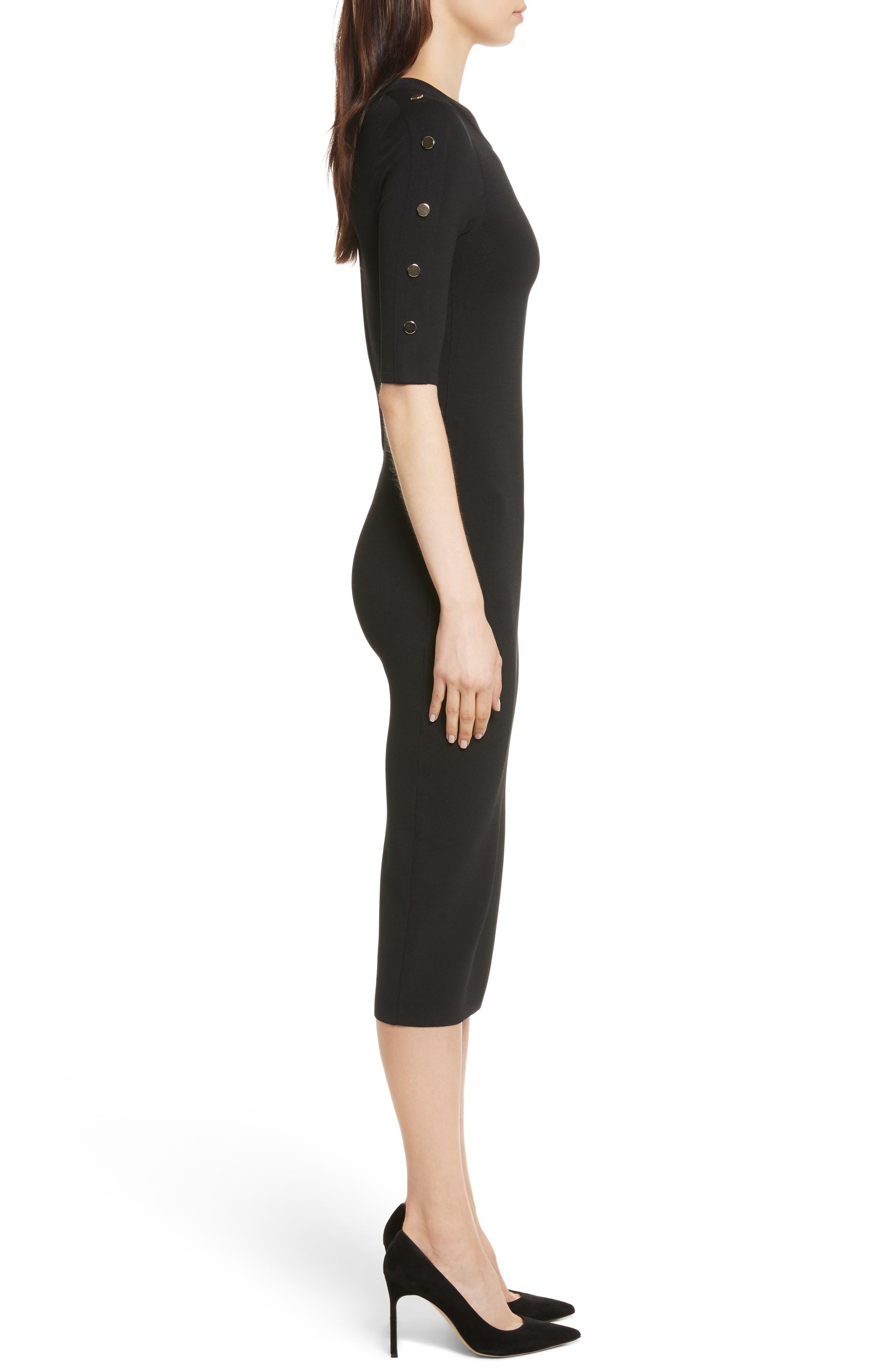 Alternate Image 3  - Veronica Beard Joss Body-Con Knit Dress