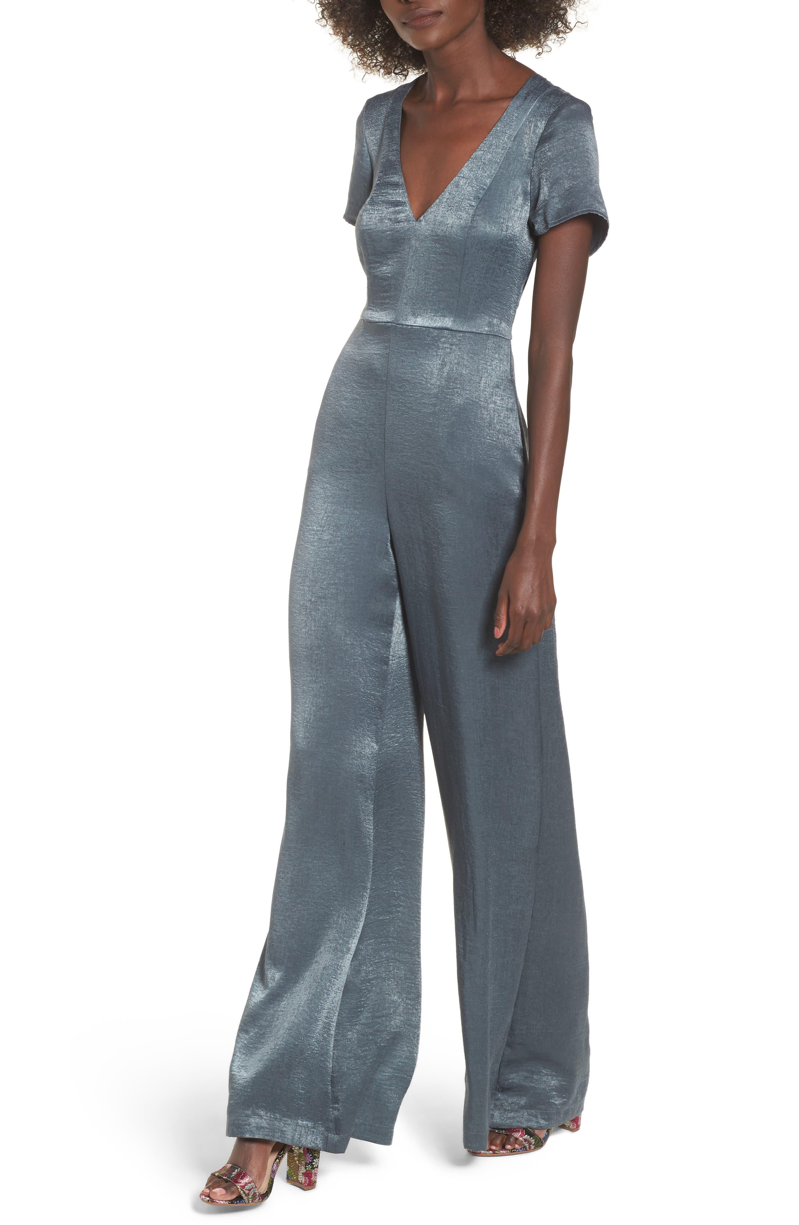 Brianna Jumpsuit,                         Main,                         color, Slate Sage
