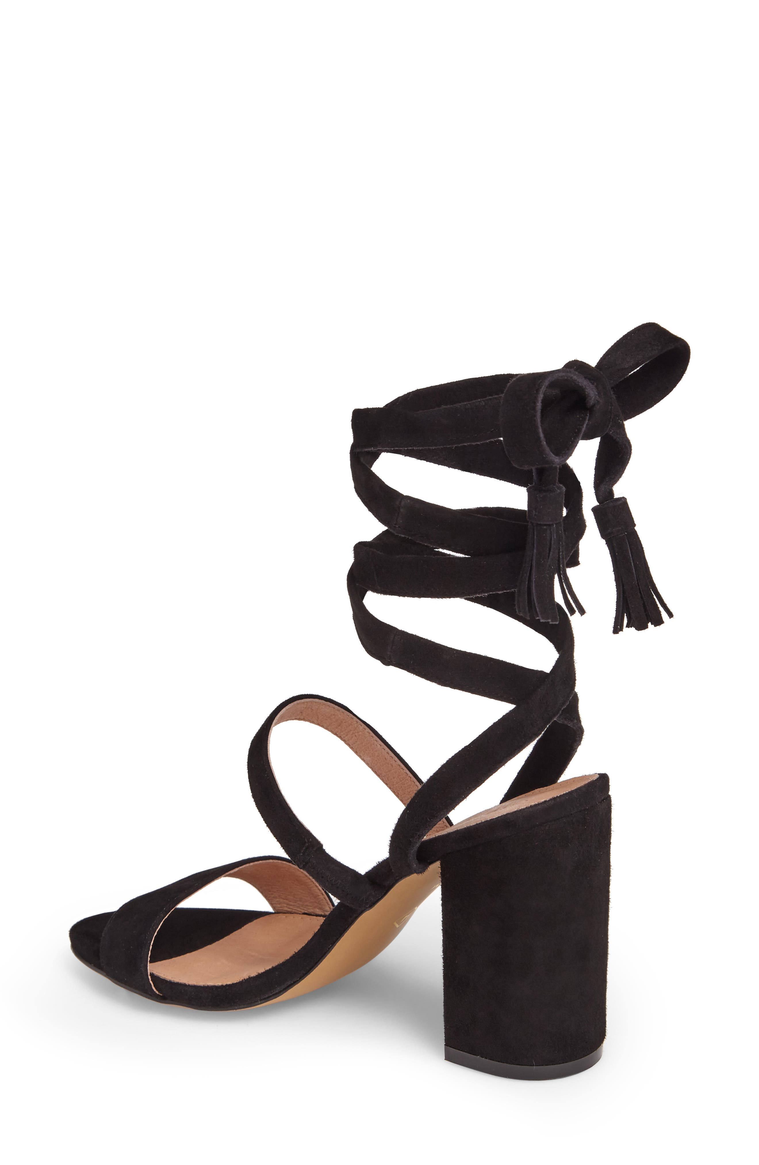 Alternate Image 2  - Halogen® Finley Lace-Up Sandal (Women)