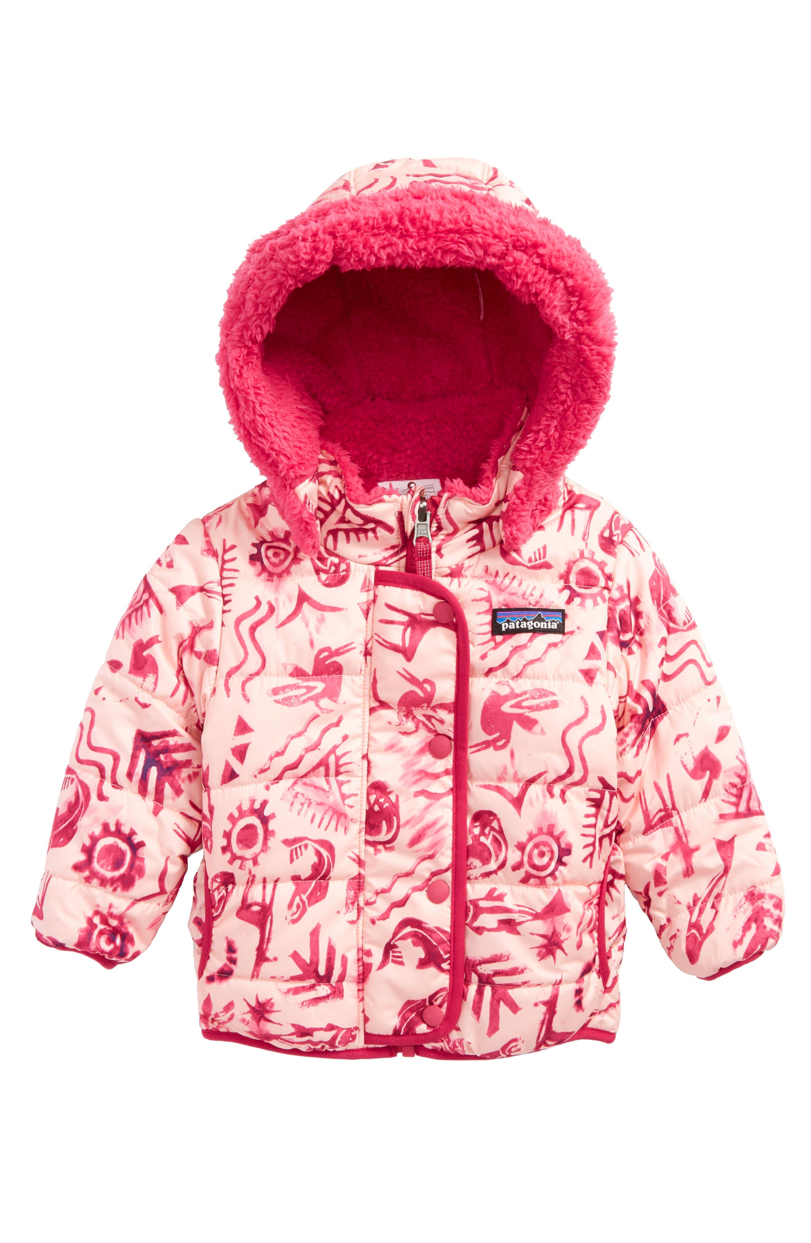 Alternate Image 1 Selected - Patagonia Dream Song Water-Repellent Reversible Jacket (Baby Girls)