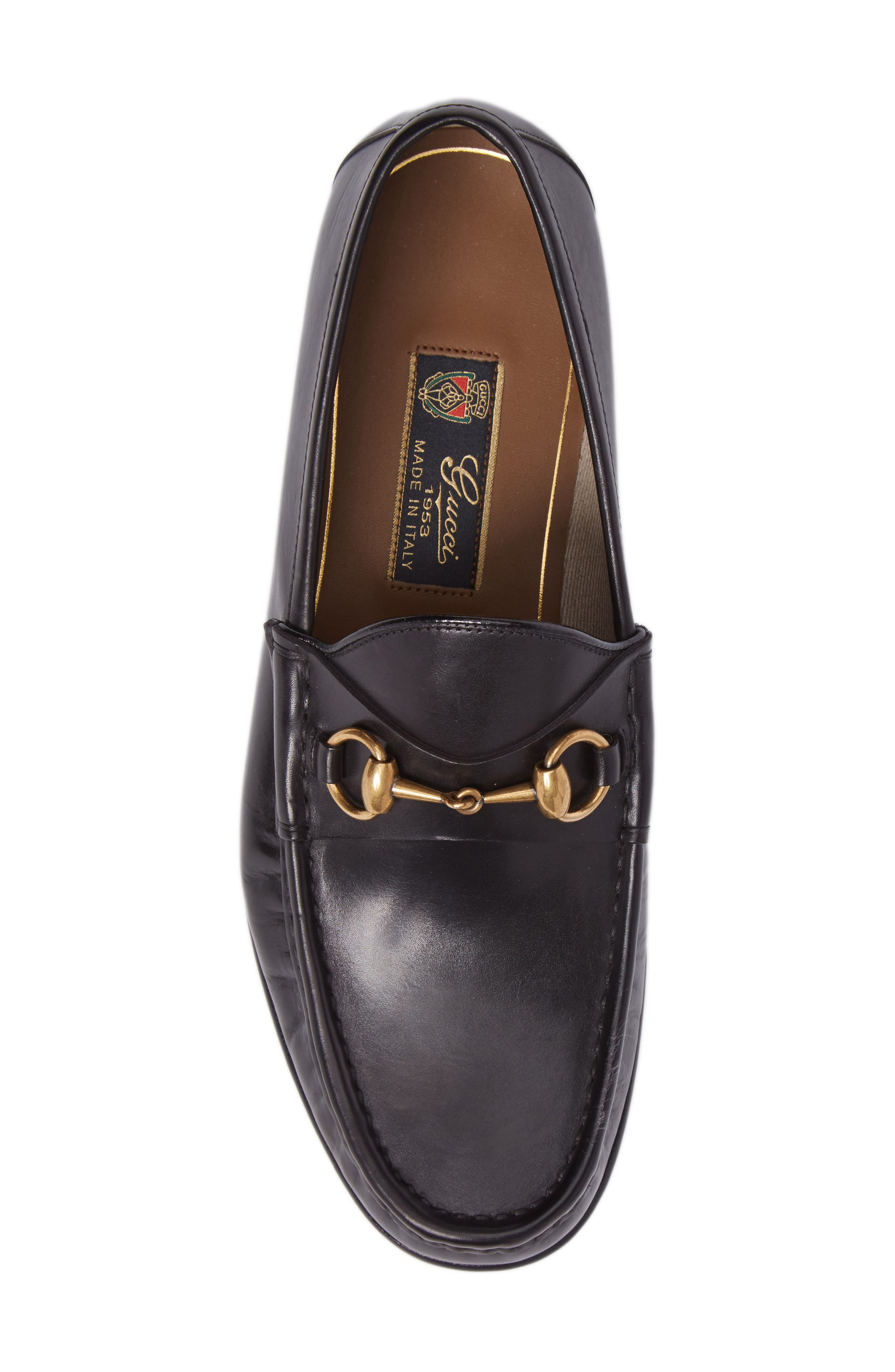 'Roos' Bit Loafer,                             Alternate thumbnail 5, color,                             Nero