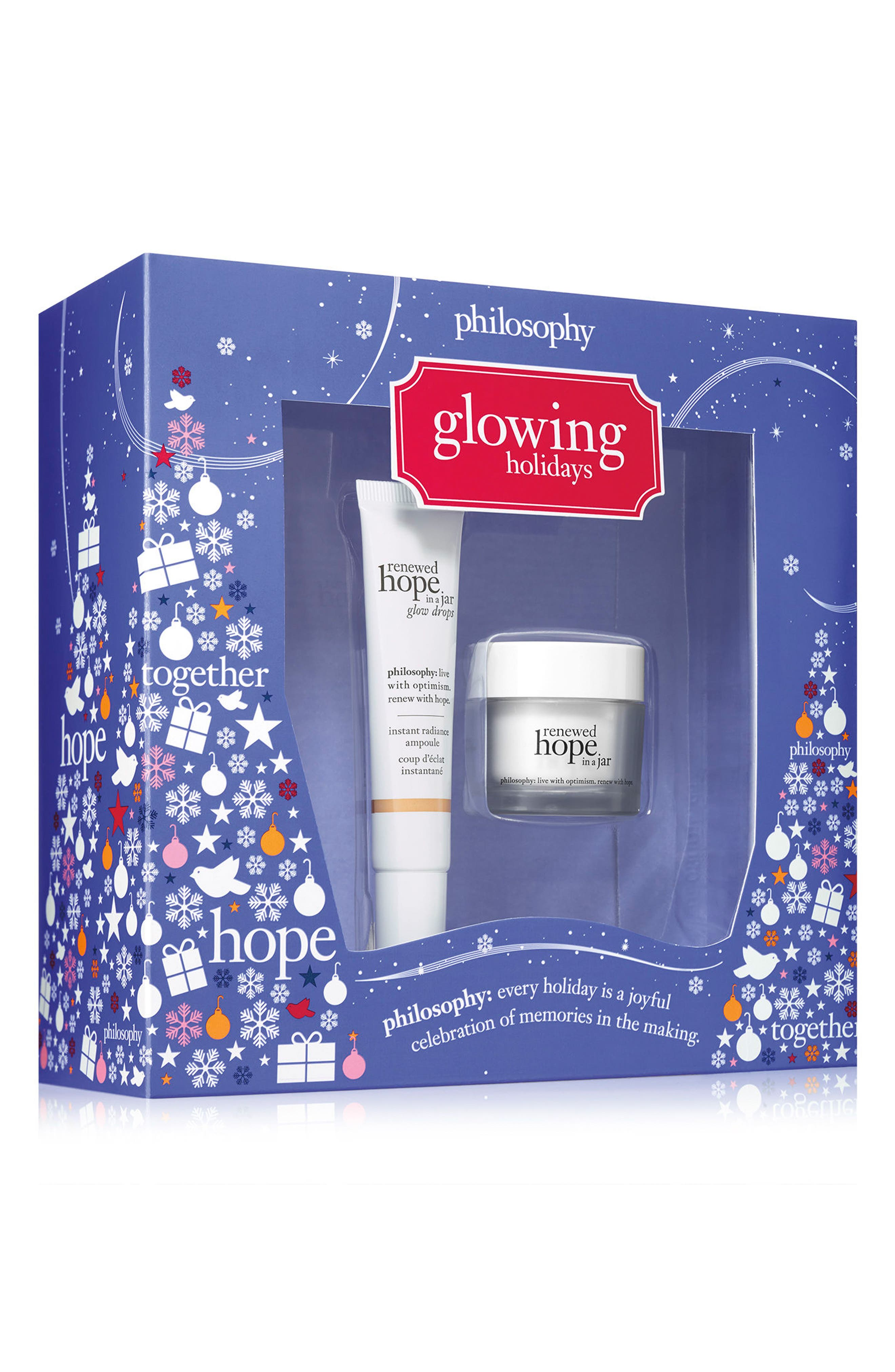 philosophy glowing gift set (Limited Edition)