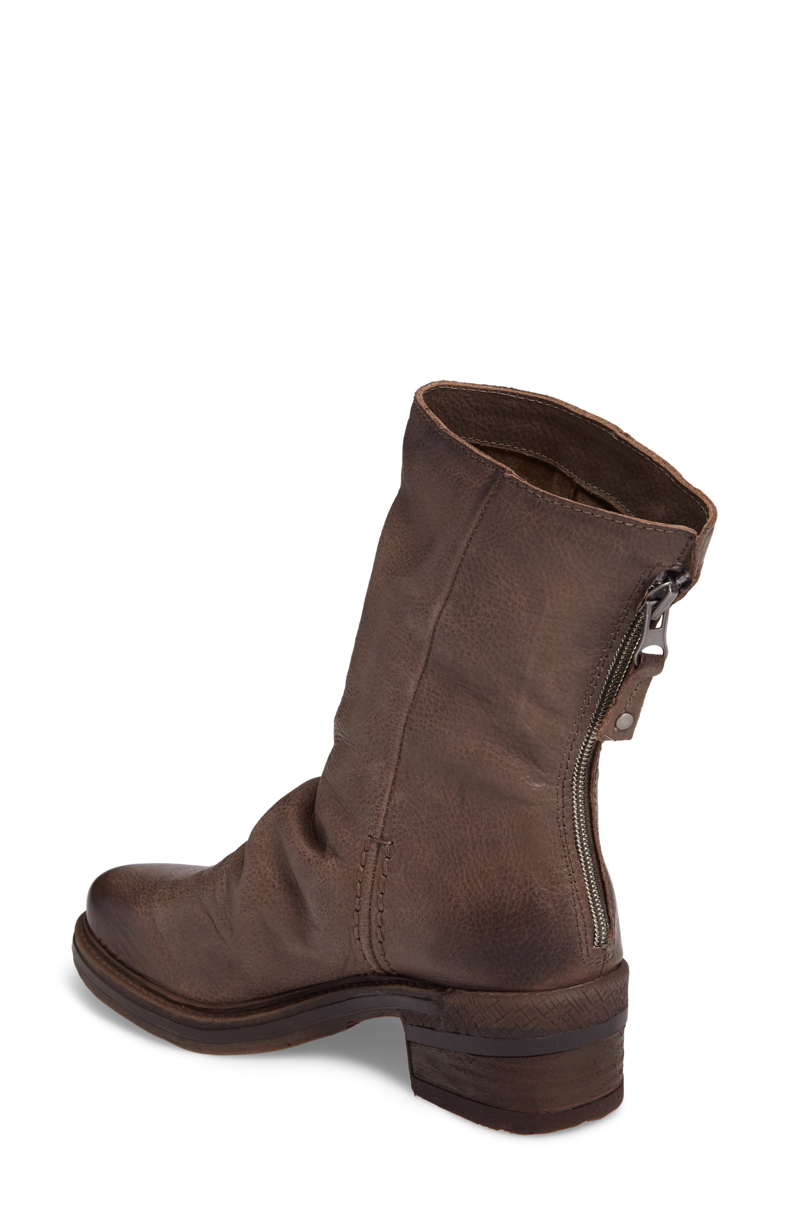 Fernweh Slouchy Bootie,                             Alternate thumbnail 2, color,                             Mint Leather