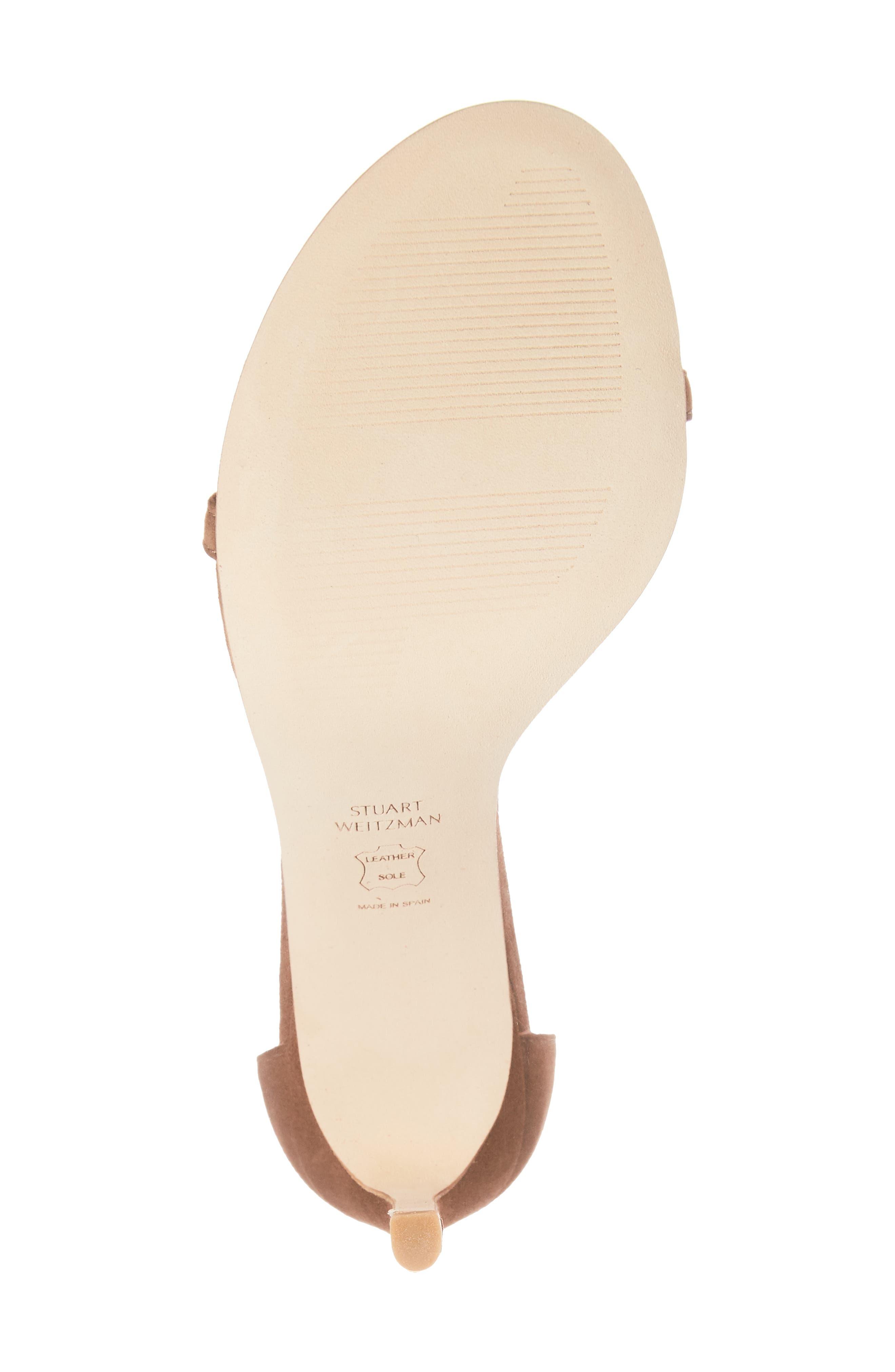 Alternate Image 6  - Stuart Weitzman Nudistsong Ankle Strap Sandal (Women)