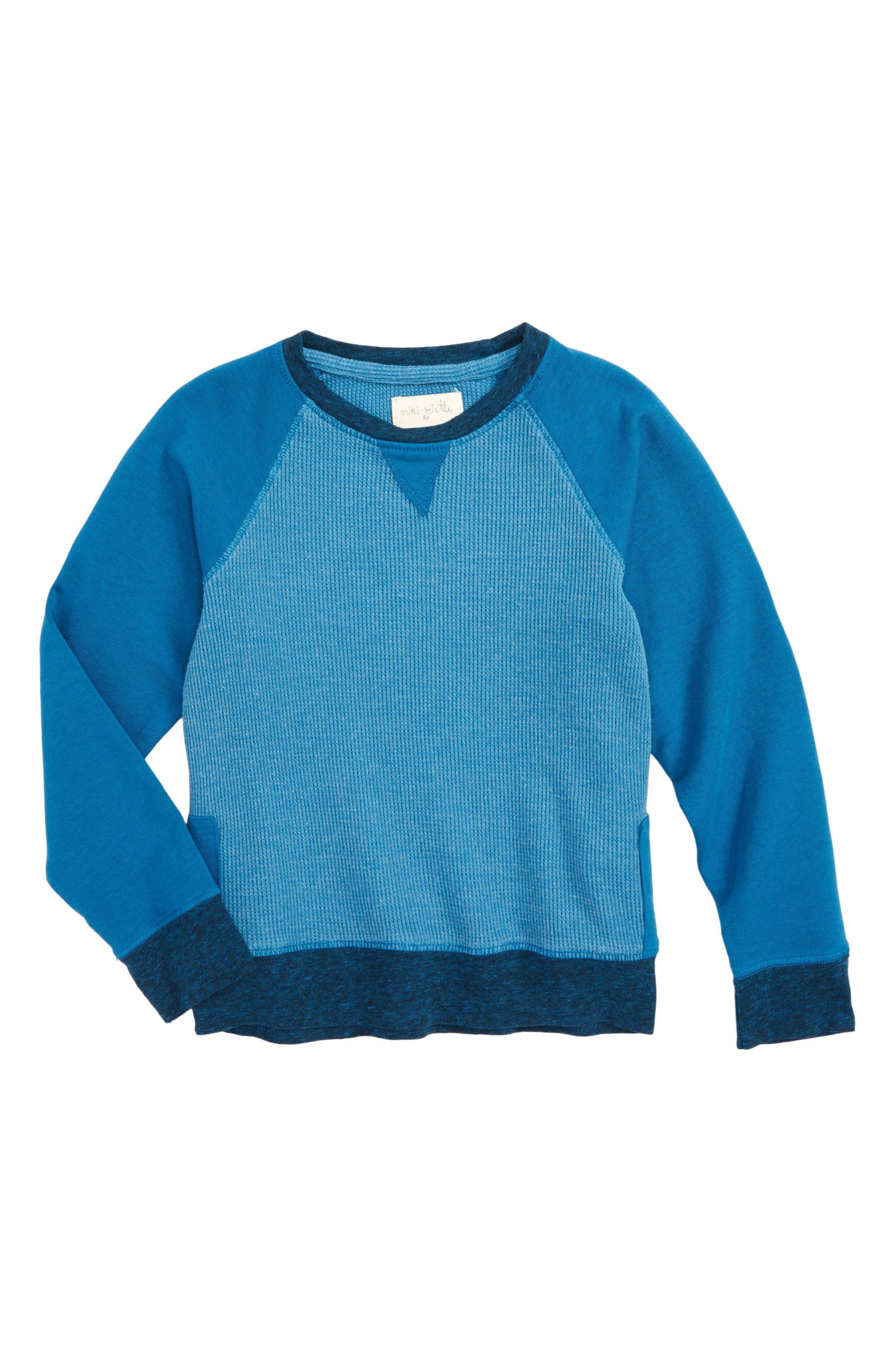Miki Miette Iggy Sweatshirt (Toddler Boys, Little Boys & Big Boys)