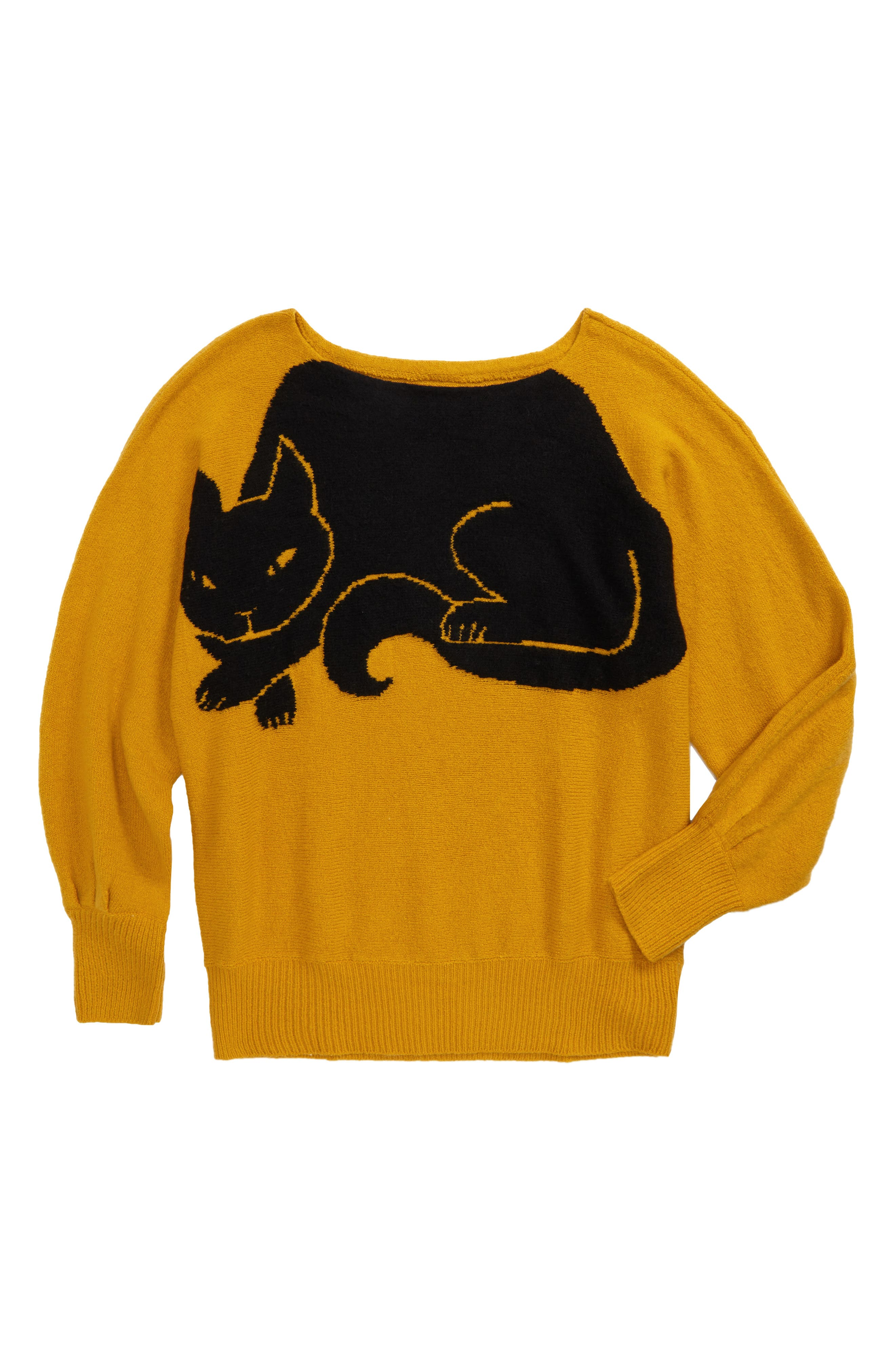 Icon Dolman Sweater,                             Main thumbnail 1, color,                             Yellow Nugget