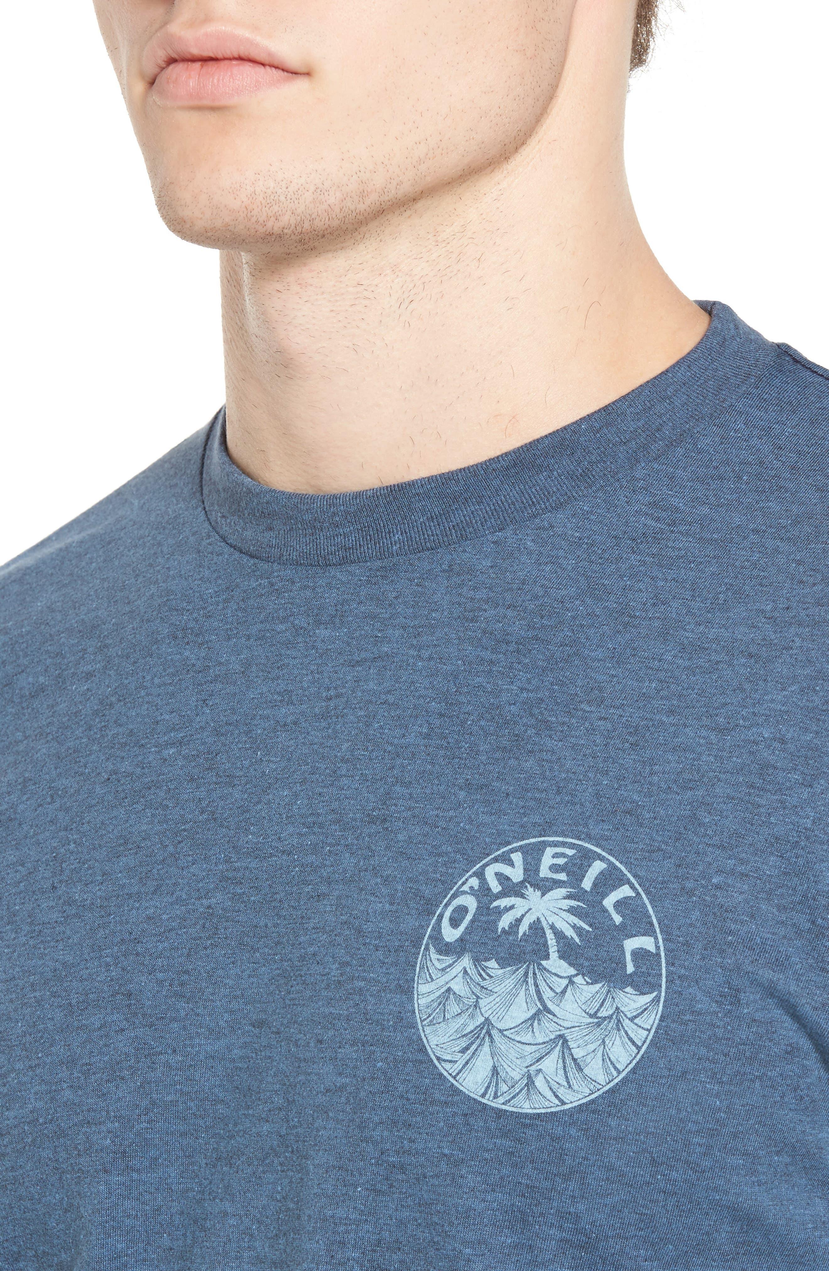 Alternate Image 4  - O'Neill Waver Graphic T-Shirt