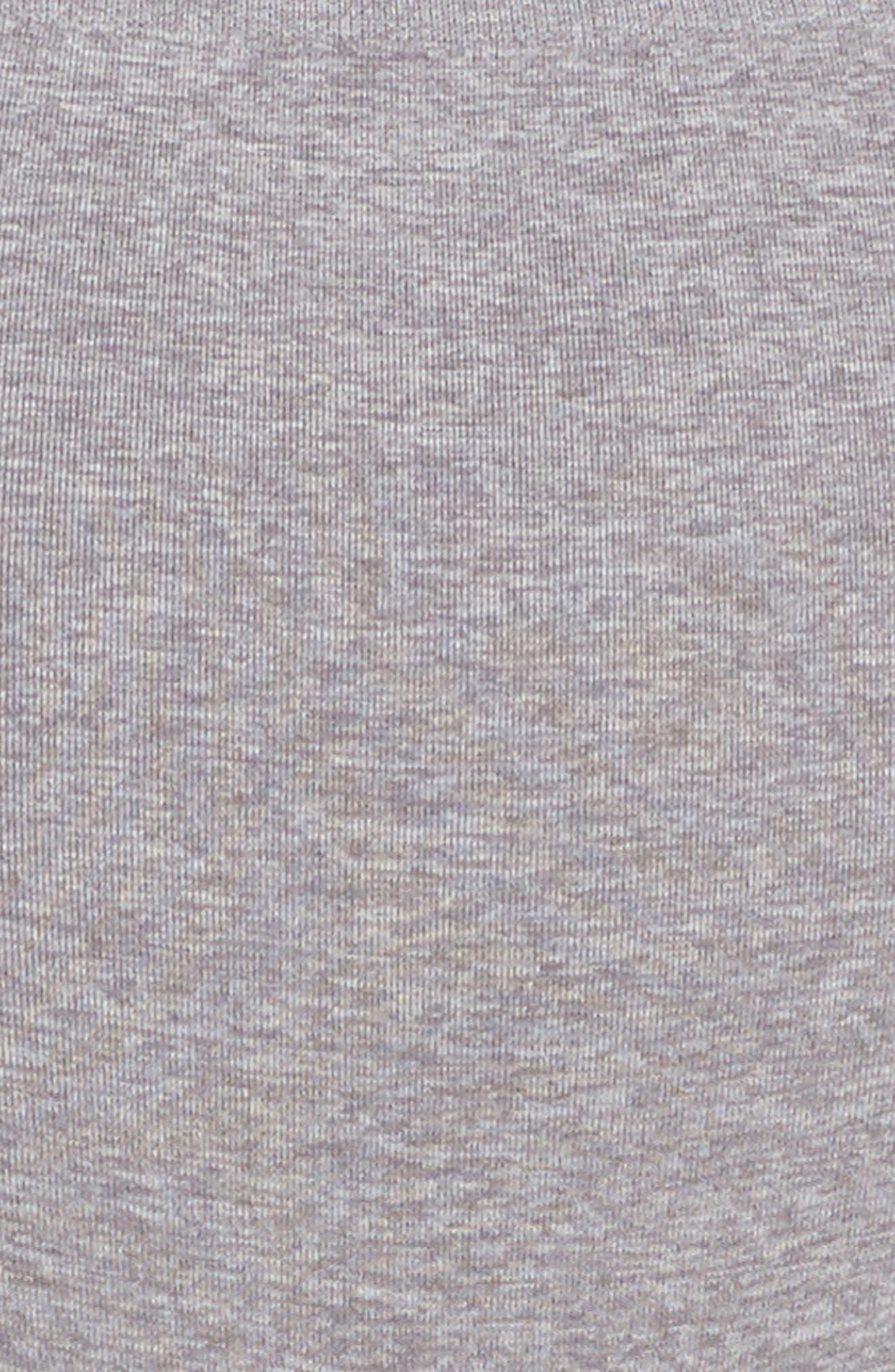 High Waist Seamless Briefs,                             Alternate thumbnail 4, color,                             Grey Excalibur Heather
