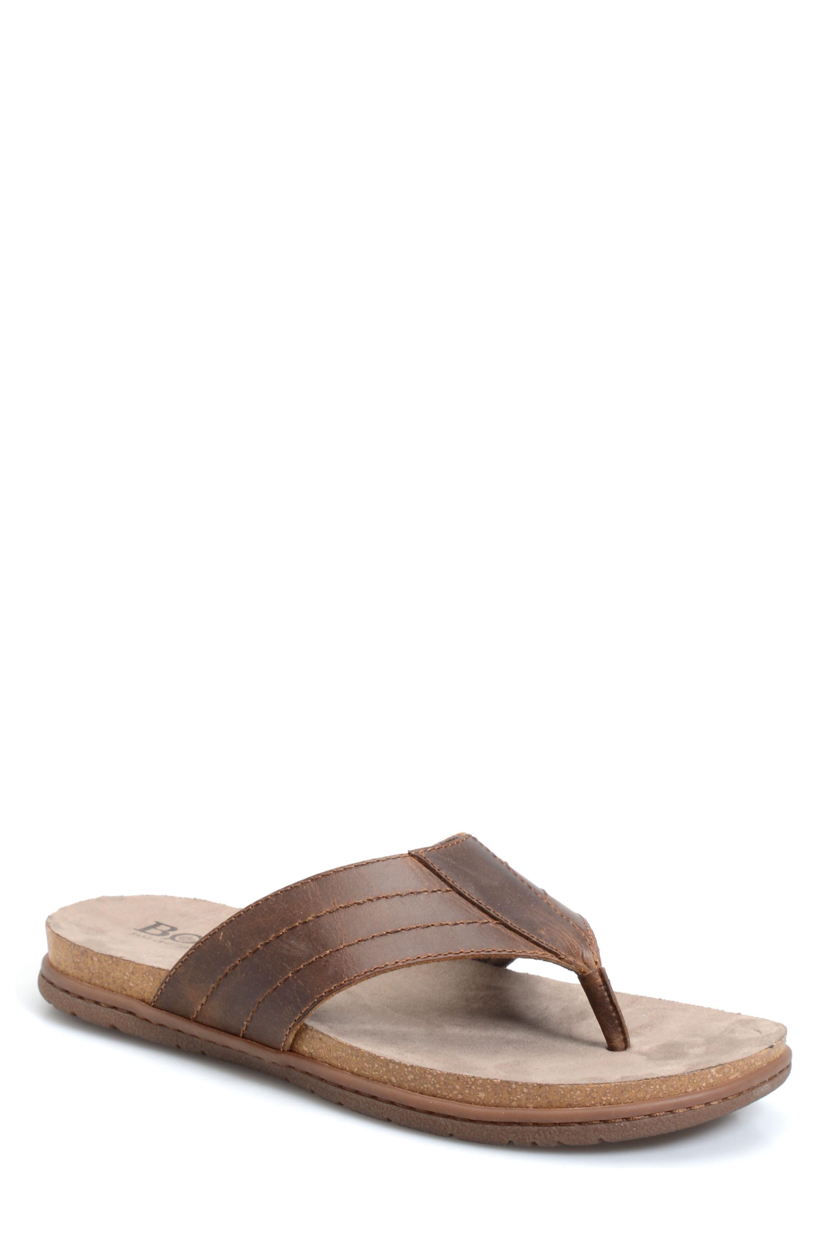 Palu Flip Flop,                         Main,                         color, Dark Brown