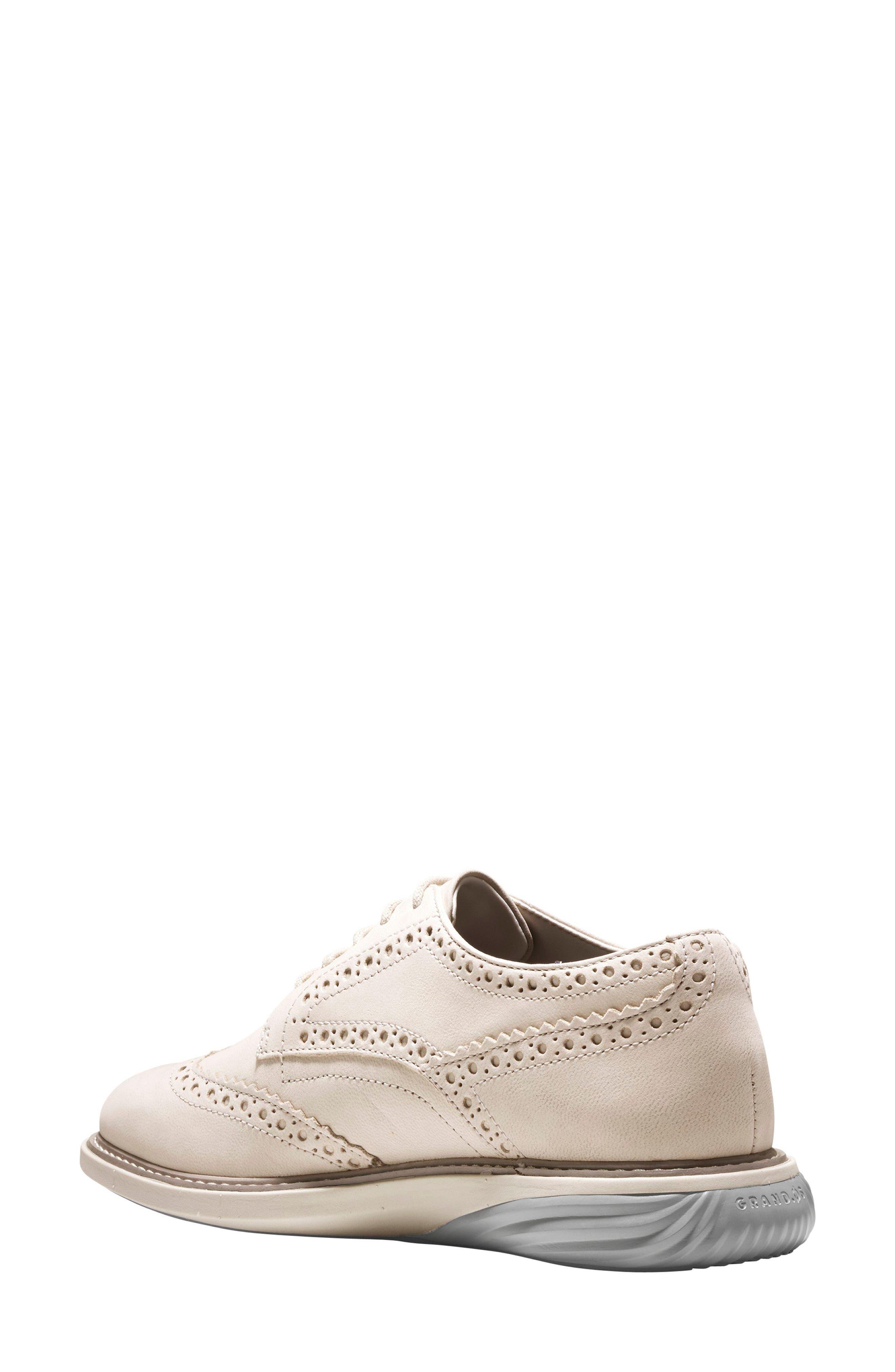 Grandevolution Shortwing Oxford Sneaker,                             Alternate thumbnail 2, color,                             Pumice Stone Nubuck