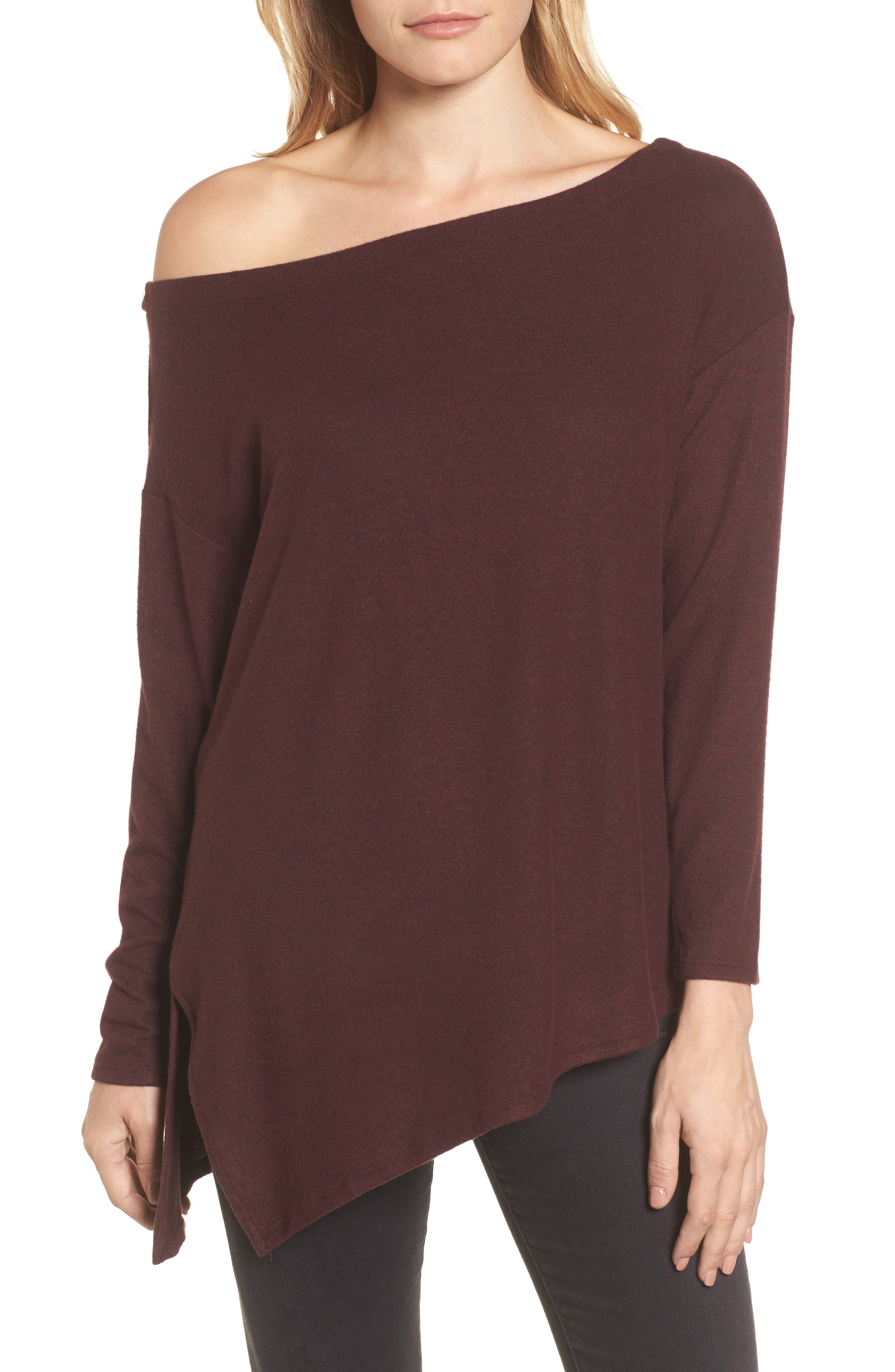 Gibson Asymmetrical Cozy Fleece Convertible Top