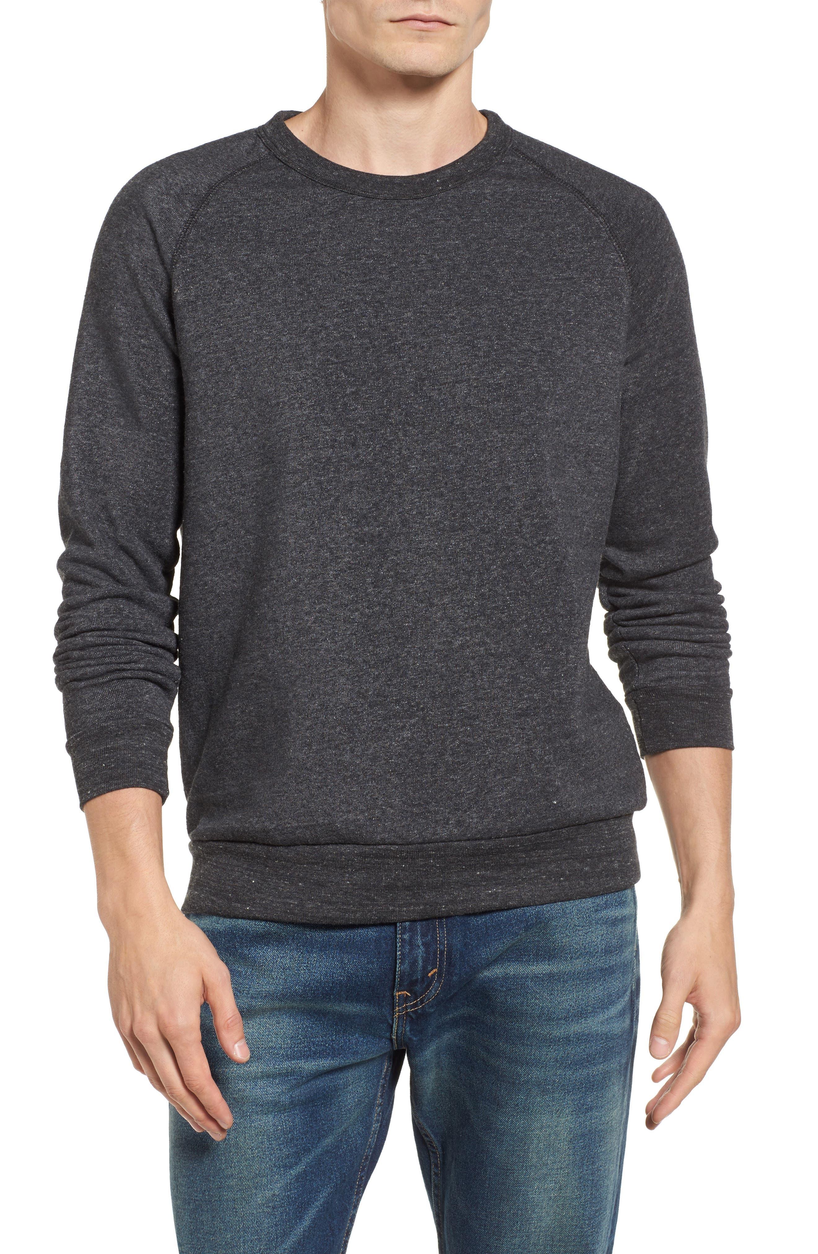 'The Champ' Sweatshirt,                         Main,                         color, Eco Black
