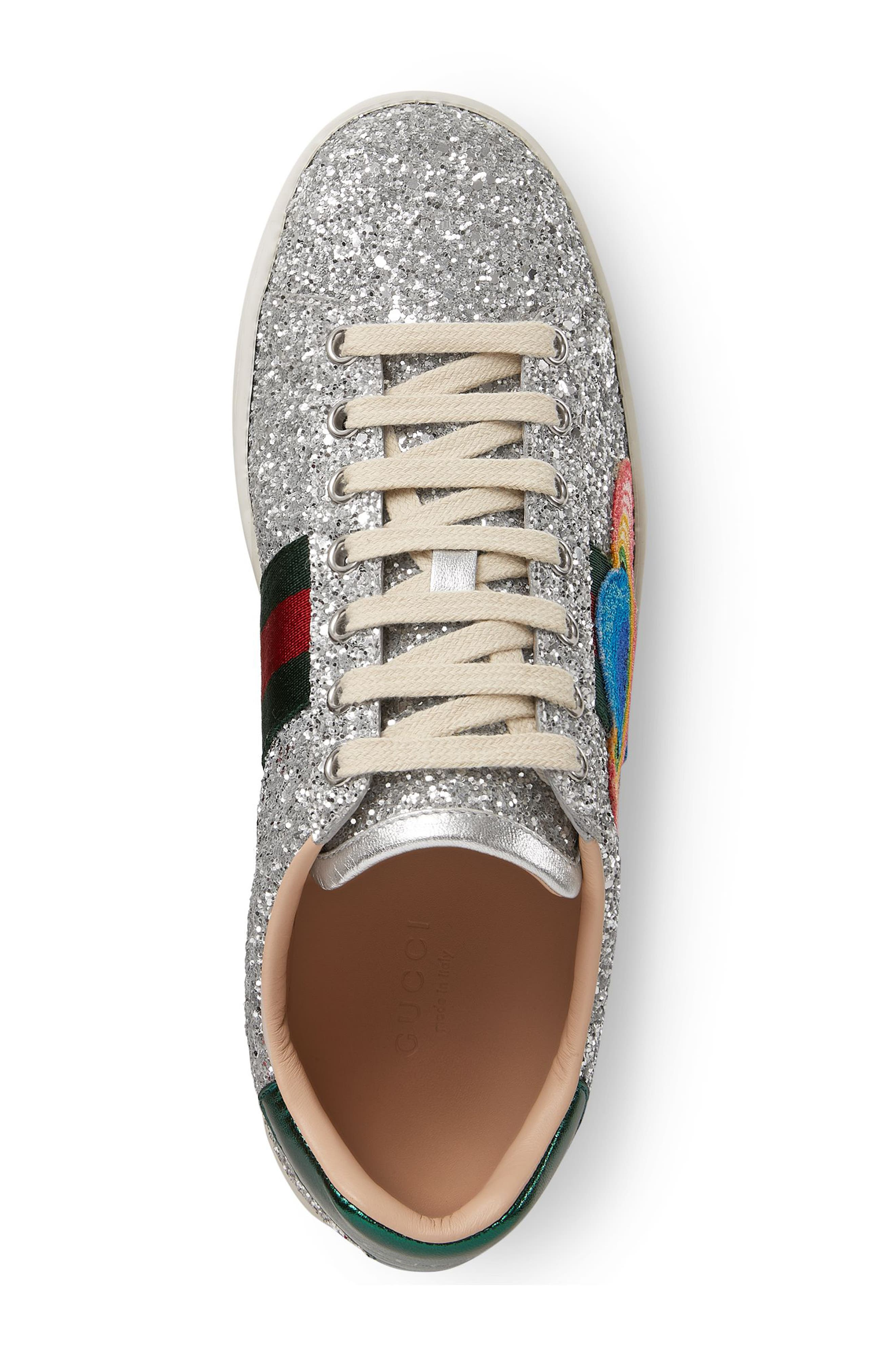 Alternate Image 3  - Gucci 'New Ace' Low Top Sneaker (Women)