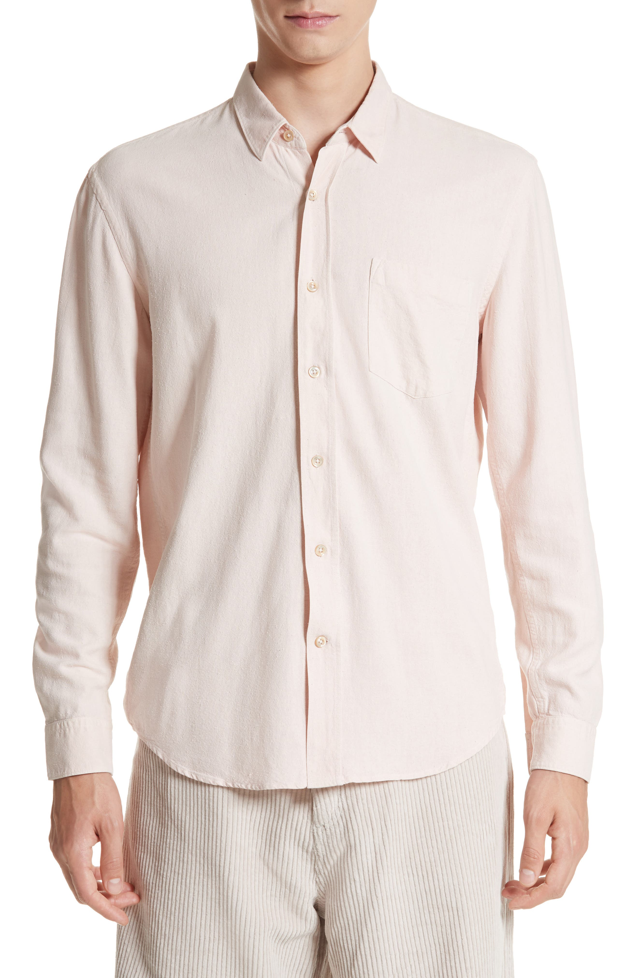 Alternate Image 1 Selected - OUR LEGACY Classic Silk Shirt