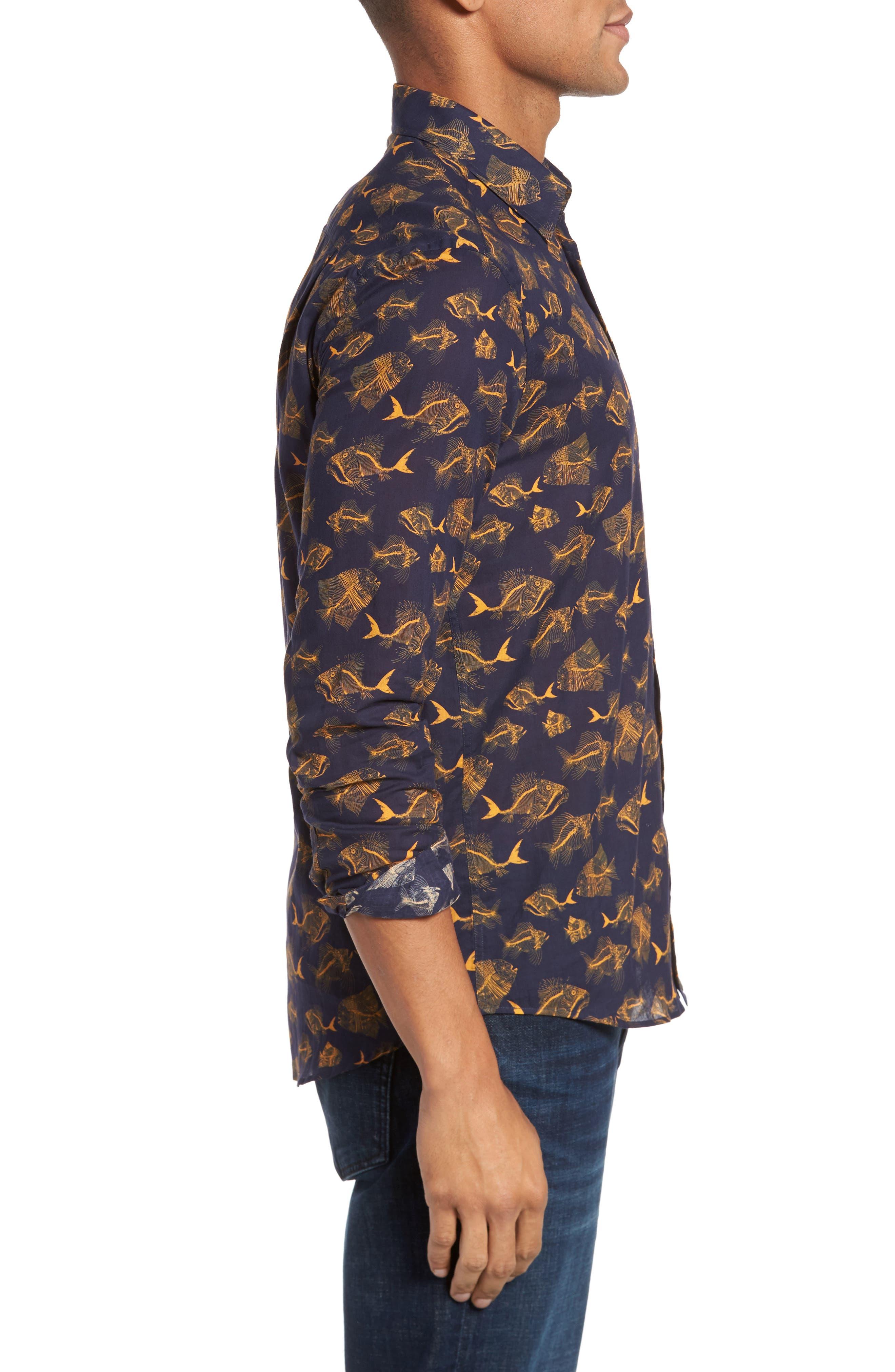 Alternate Image 4  - Vilebrequin Prehistoric Fish Sport Shirt