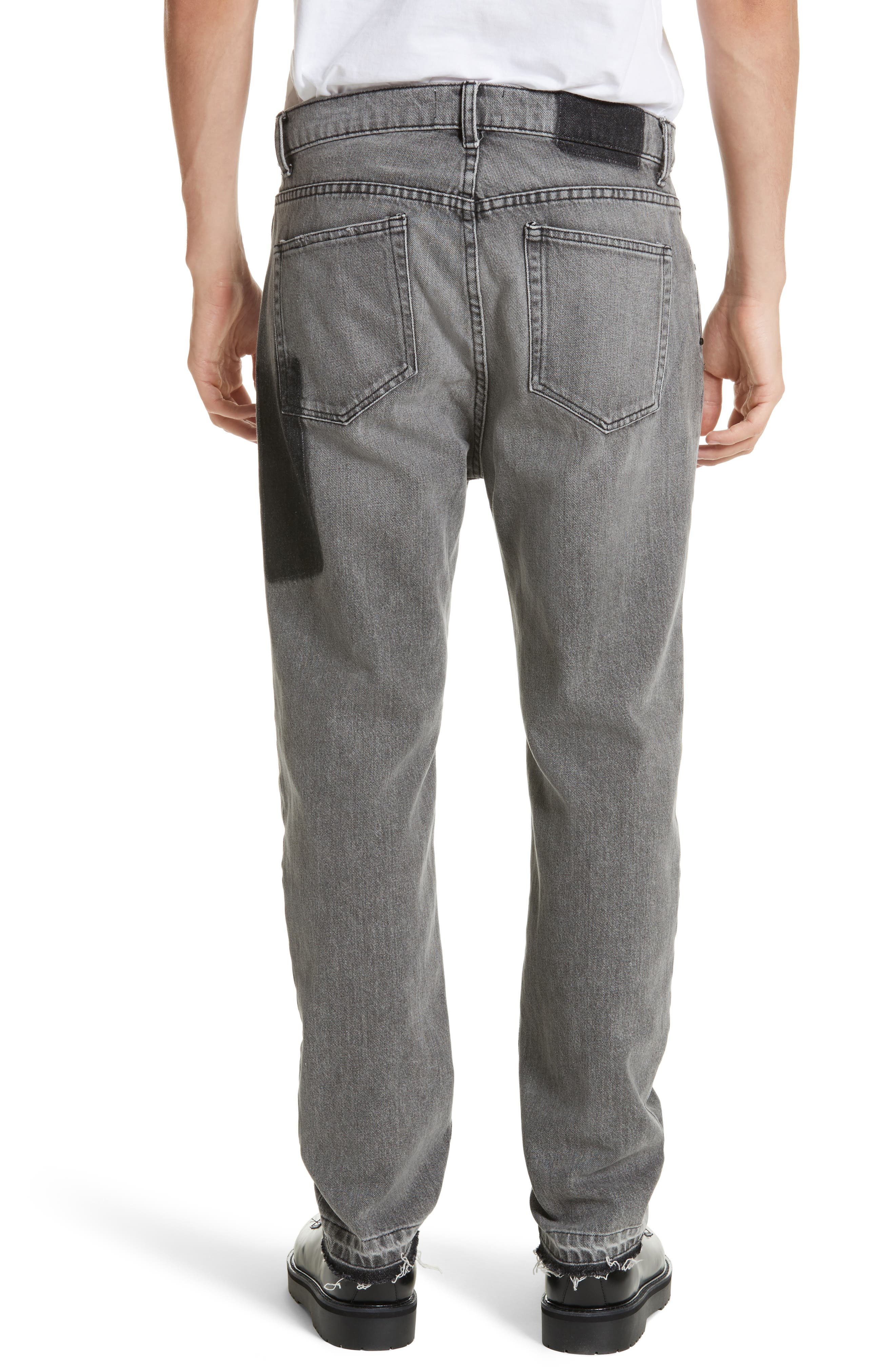 Alternate Image 2  - OVADIA & SONS OS-2 Straight Leg Jeans