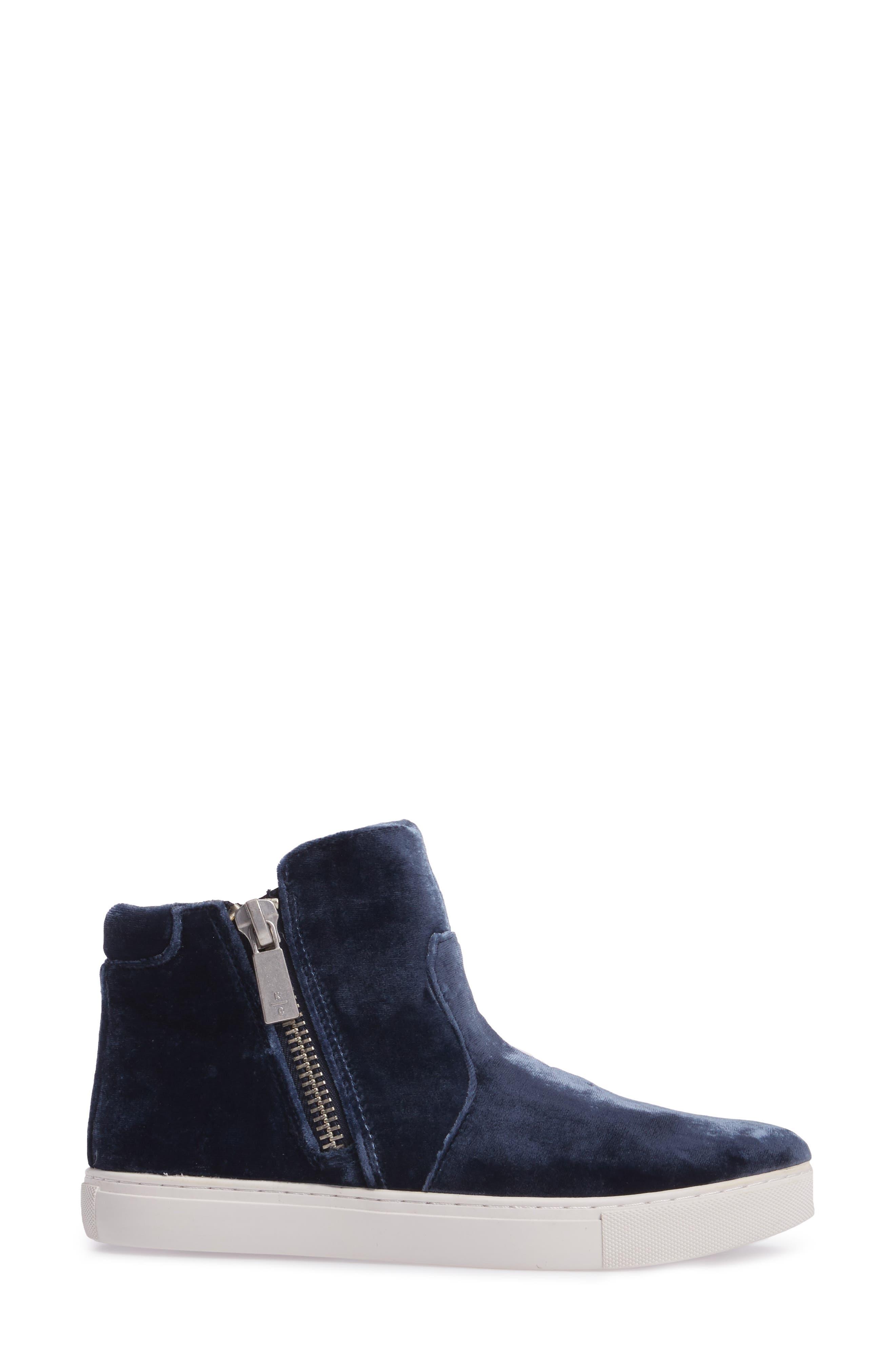 Alternate Image 3  - Kenneth Cole New York 'Kiera' Zip High Top Sneaker (Women)