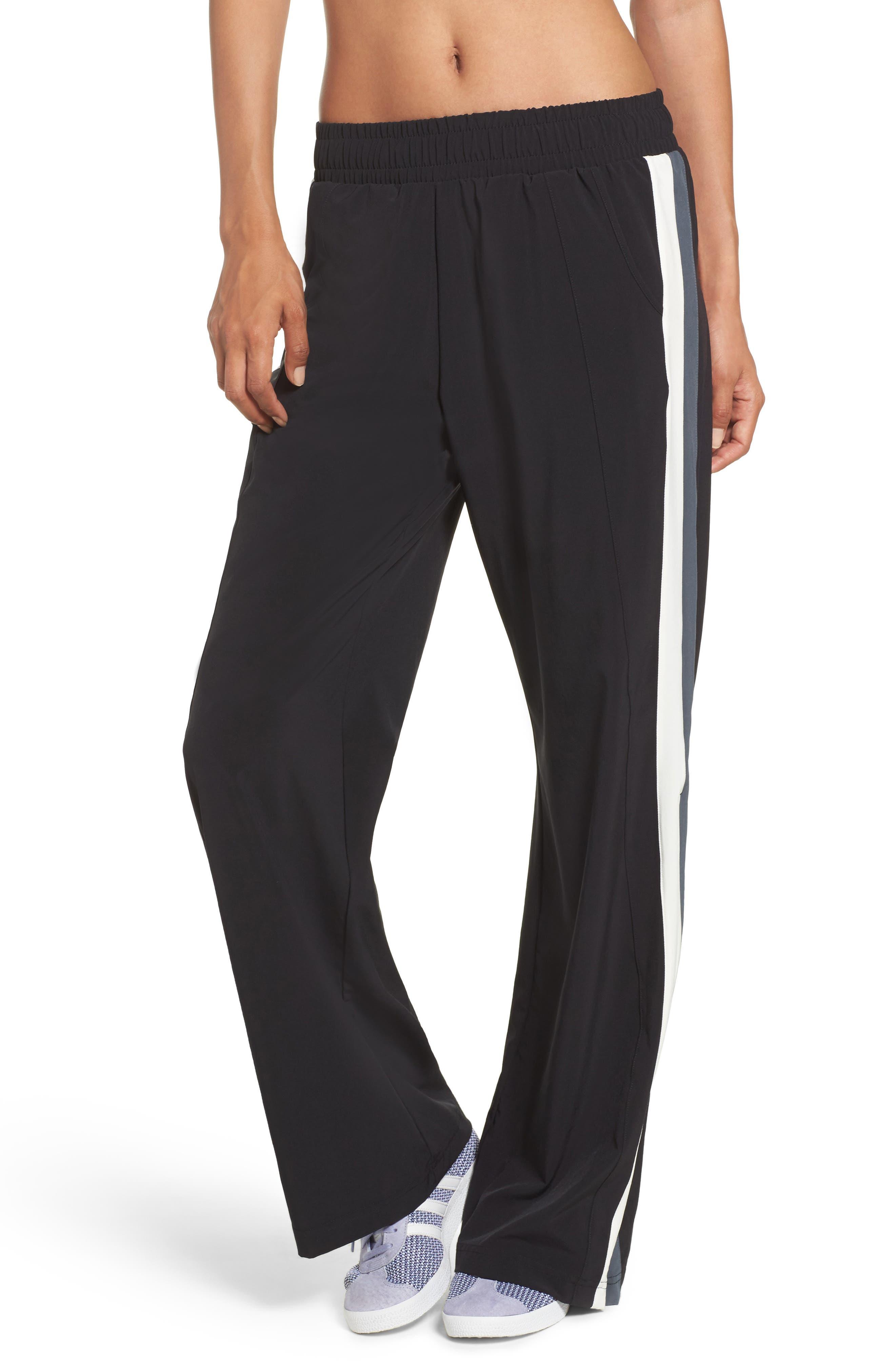 Walk the Talk Track Pants,                         Main,                         color, Black Wolf