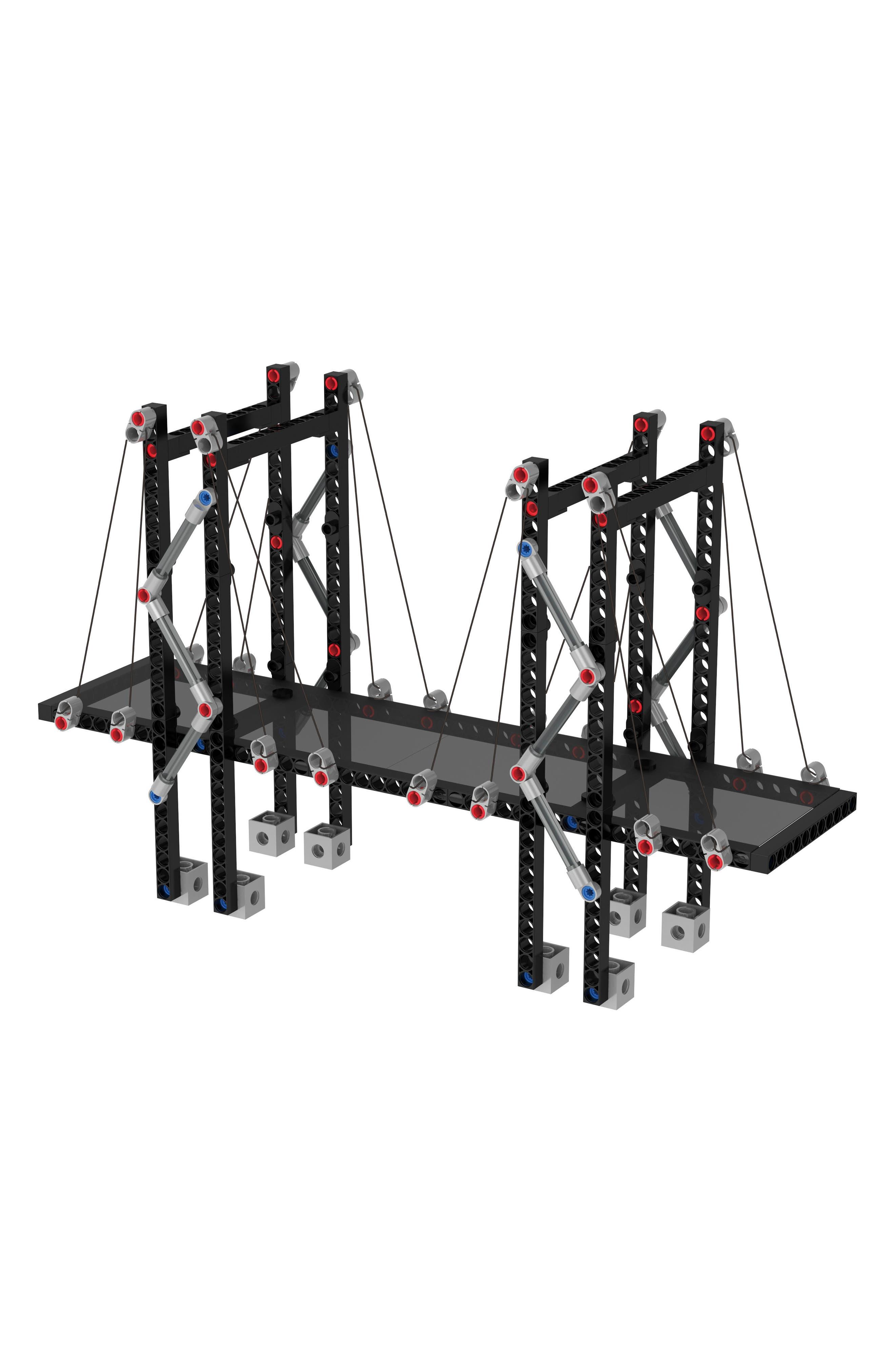 Alternate Image 26  - Thames & Kosmos Structural Engineering 323-Piece Bridges & Skyscrapers Building Kit