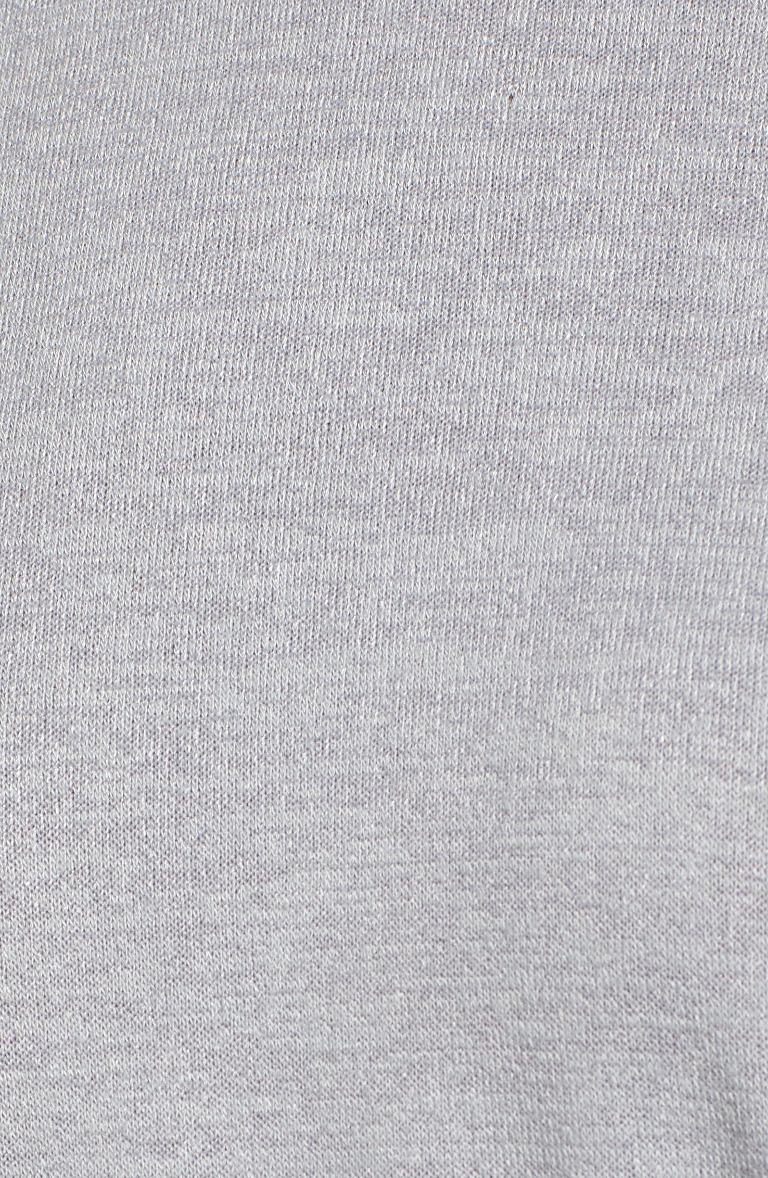 Snowfall Drawcord Top,                             Alternate thumbnail 5, color,                             Icy Grey