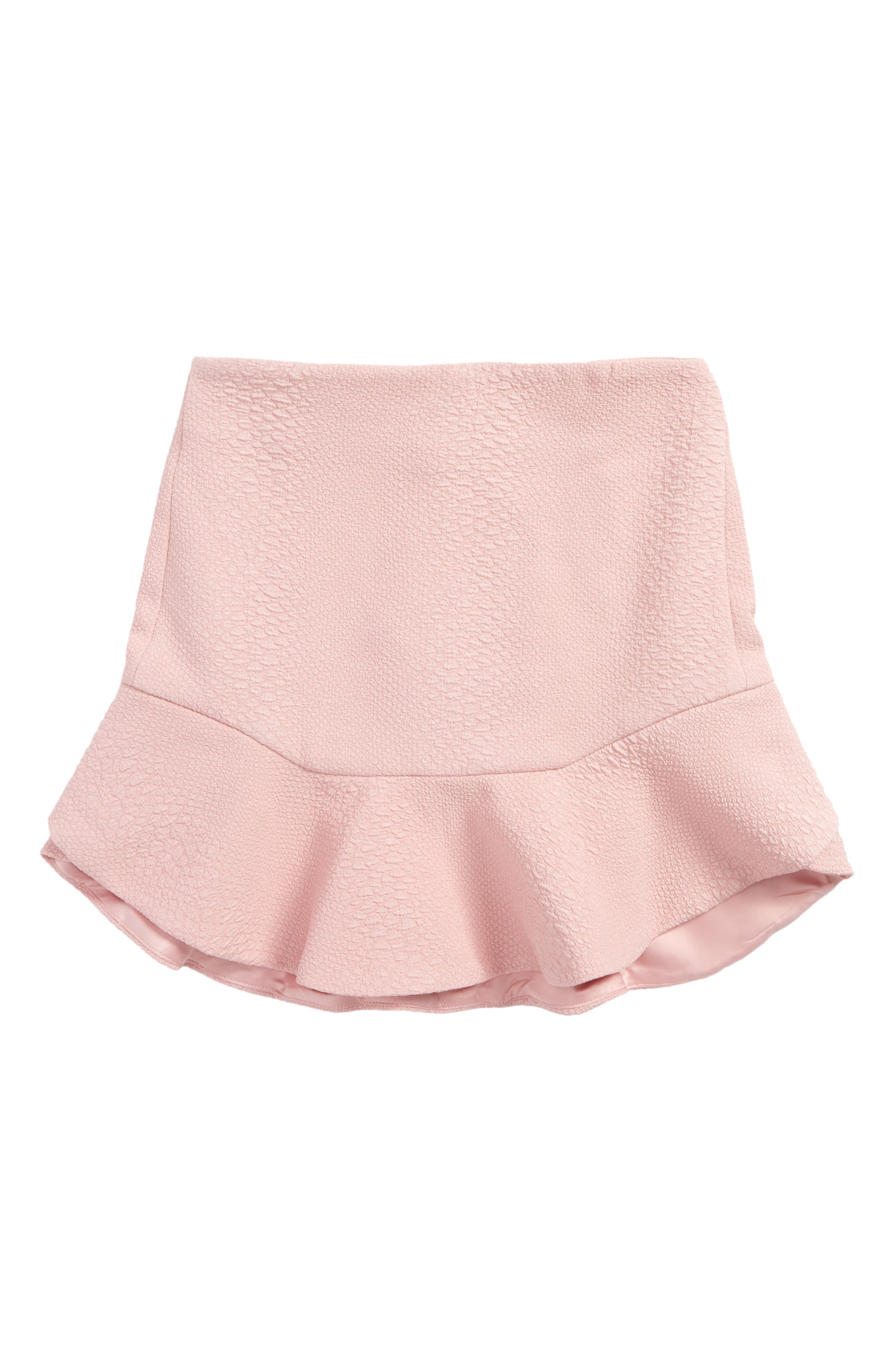 Frill Skirt,                         Main,                         color, Pink