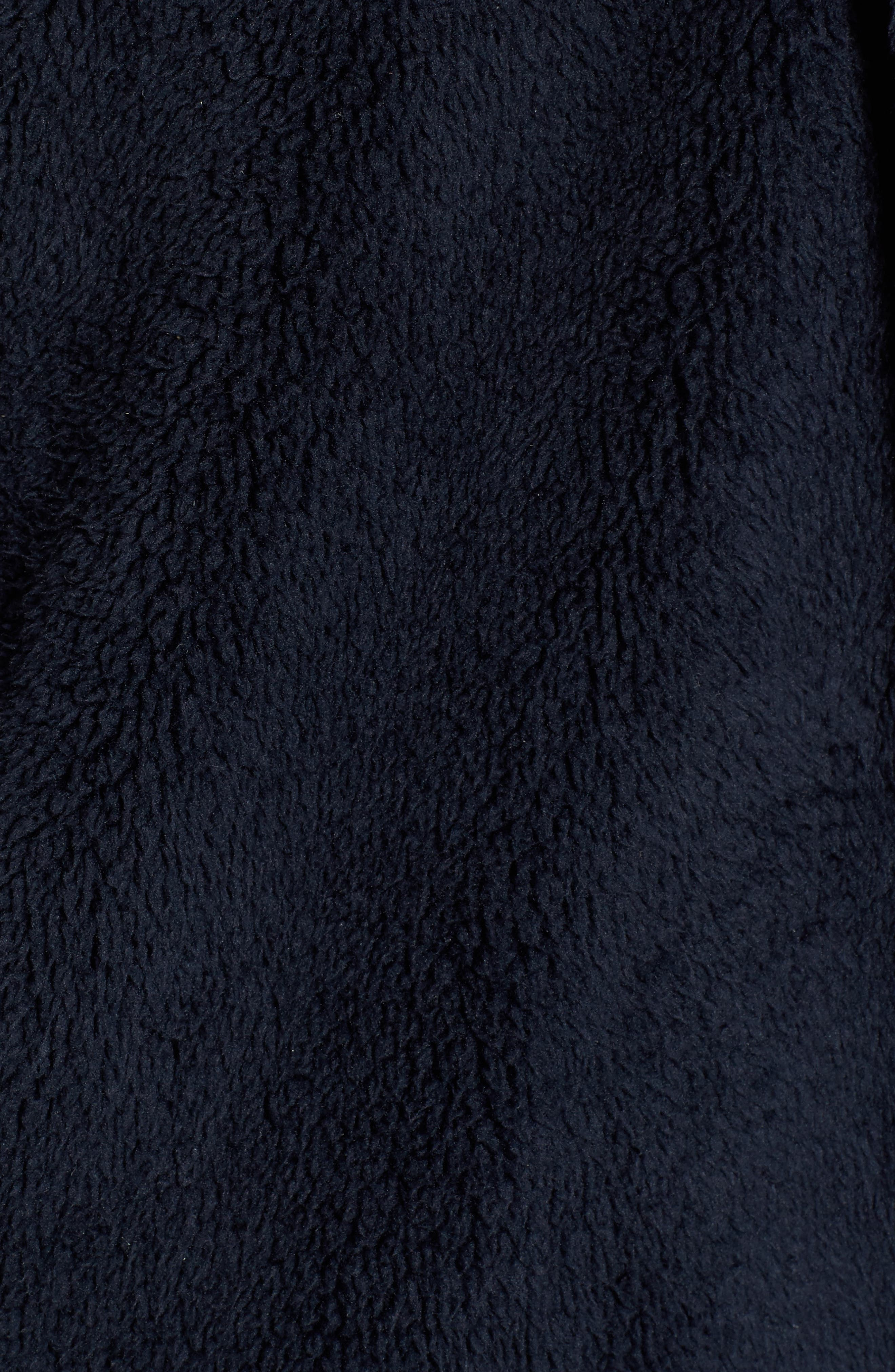 Hooded Reversible Coat,                             Alternate thumbnail 5, color,                             Navy/ Olive