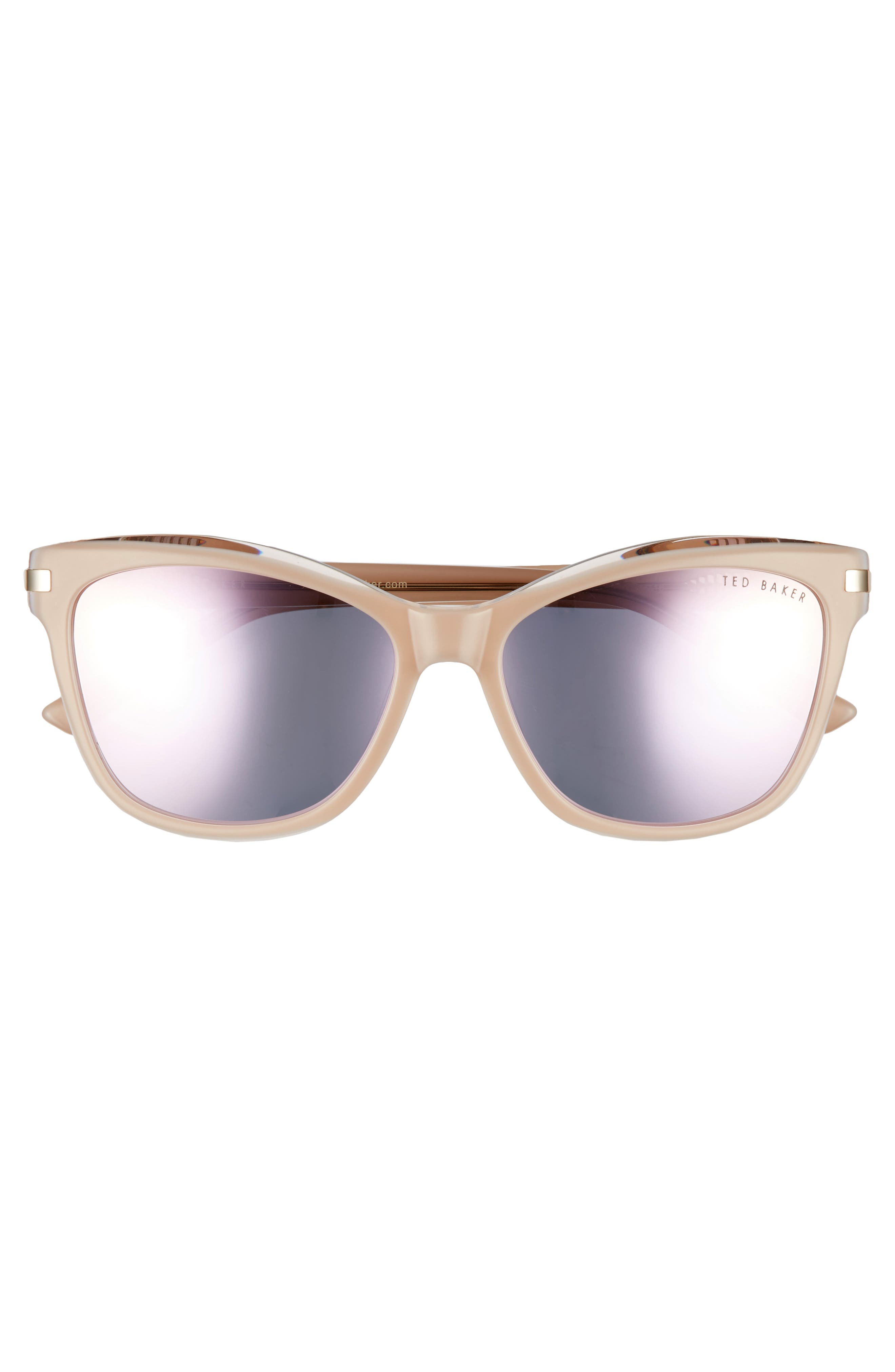 Alternate Image 3  - Ted Baker London 56mm Cat Eye Sunglasses