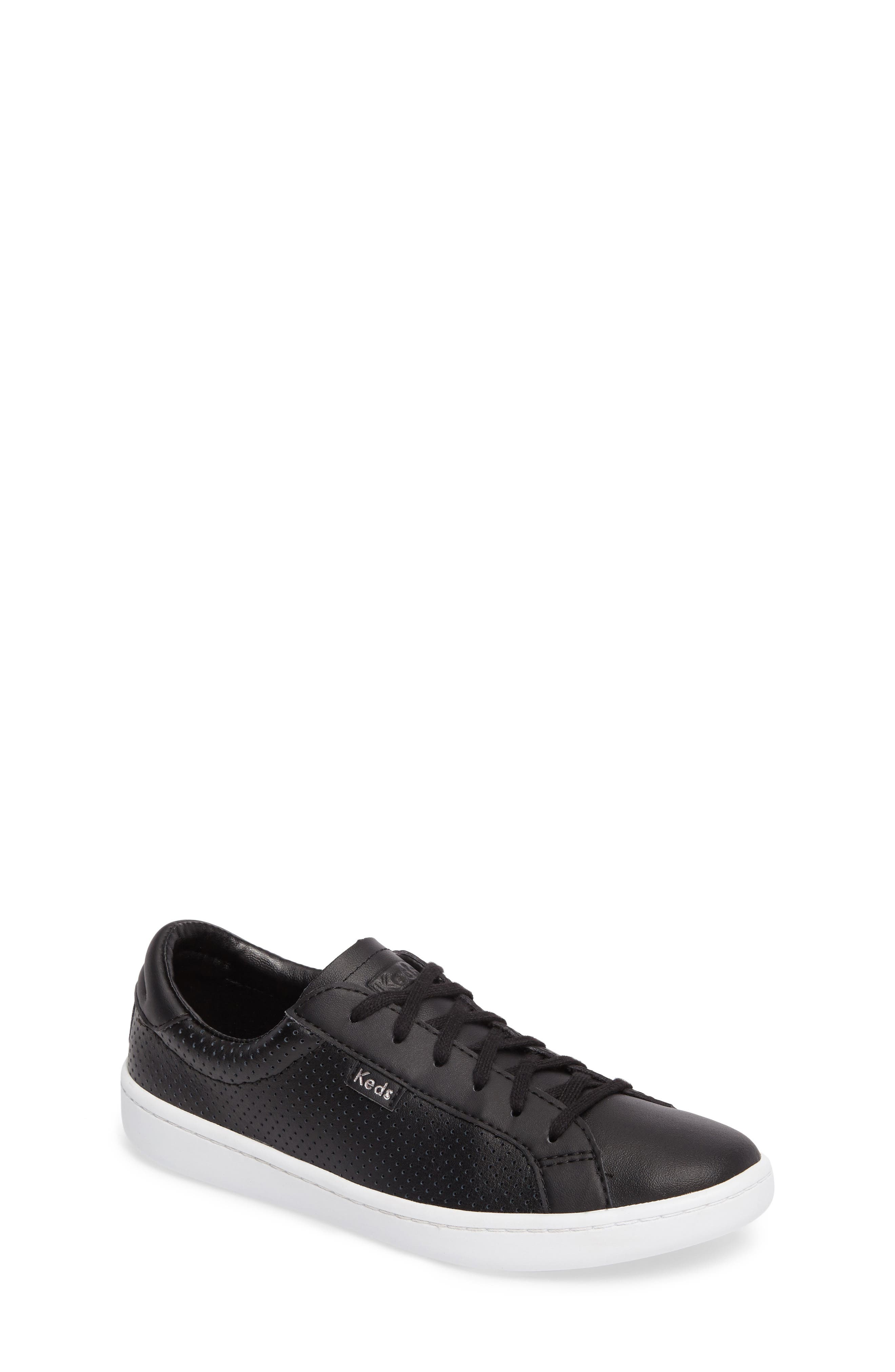 Main Image - Keds® Ace Perforated Low Top Sneaker (Toddler, Little Kid & Big Kid)