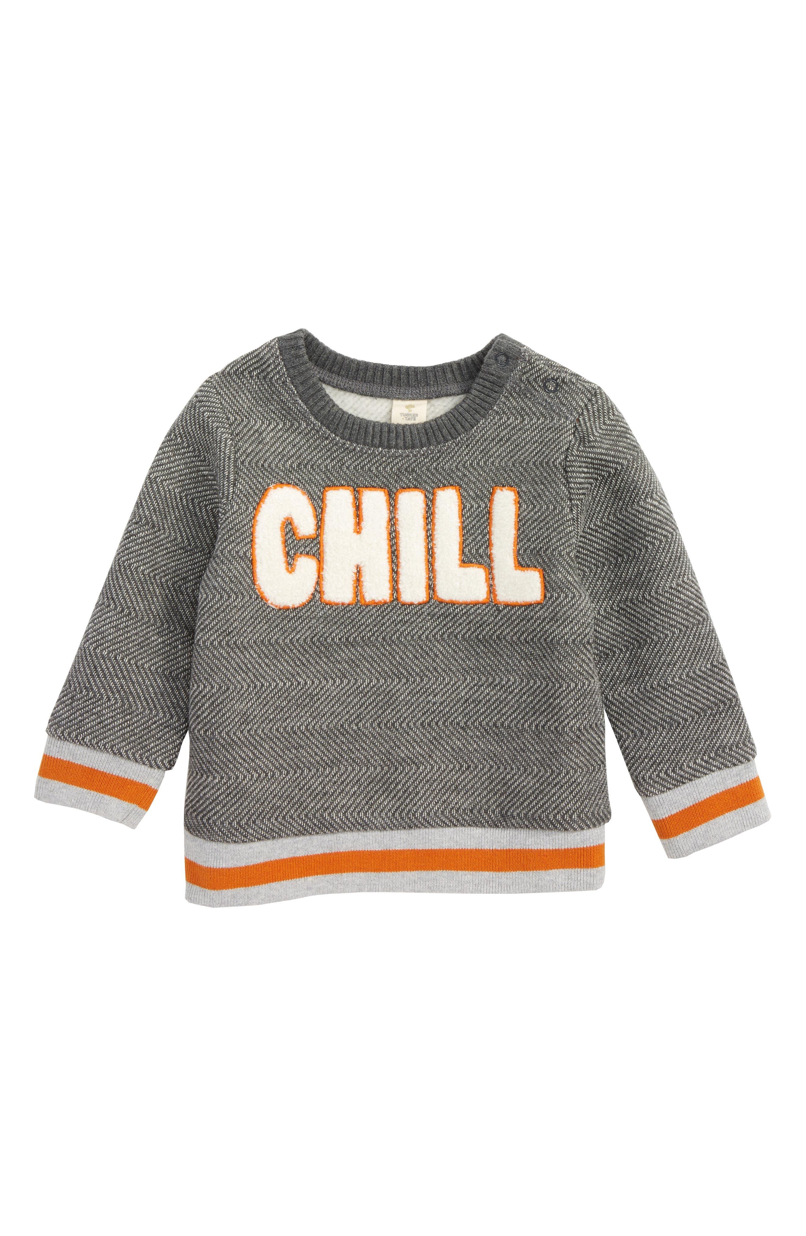 Tucker + Tate Chill Fleece Sweatshirt (Baby Boys)