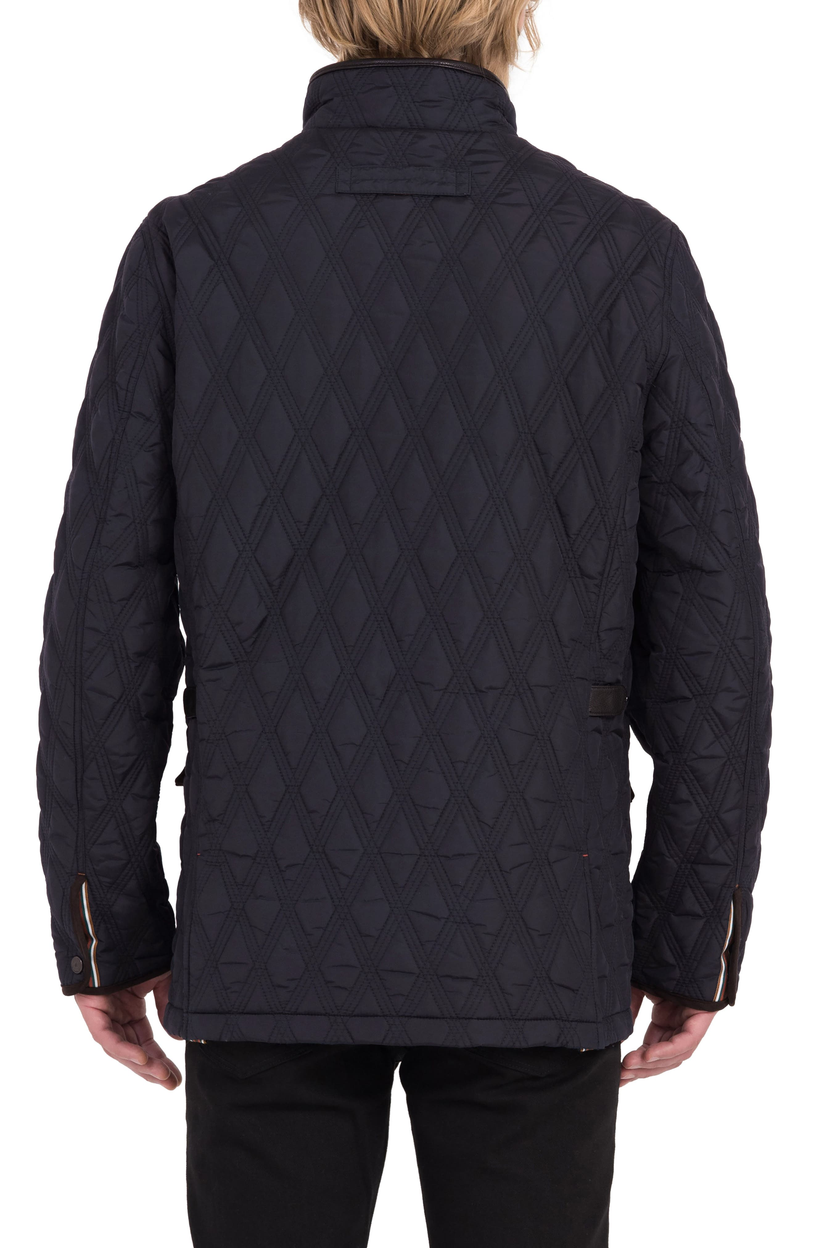 Prichard Triple Stitch Quilted Heat System Jacket,                             Alternate thumbnail 2, color,                             Midnight