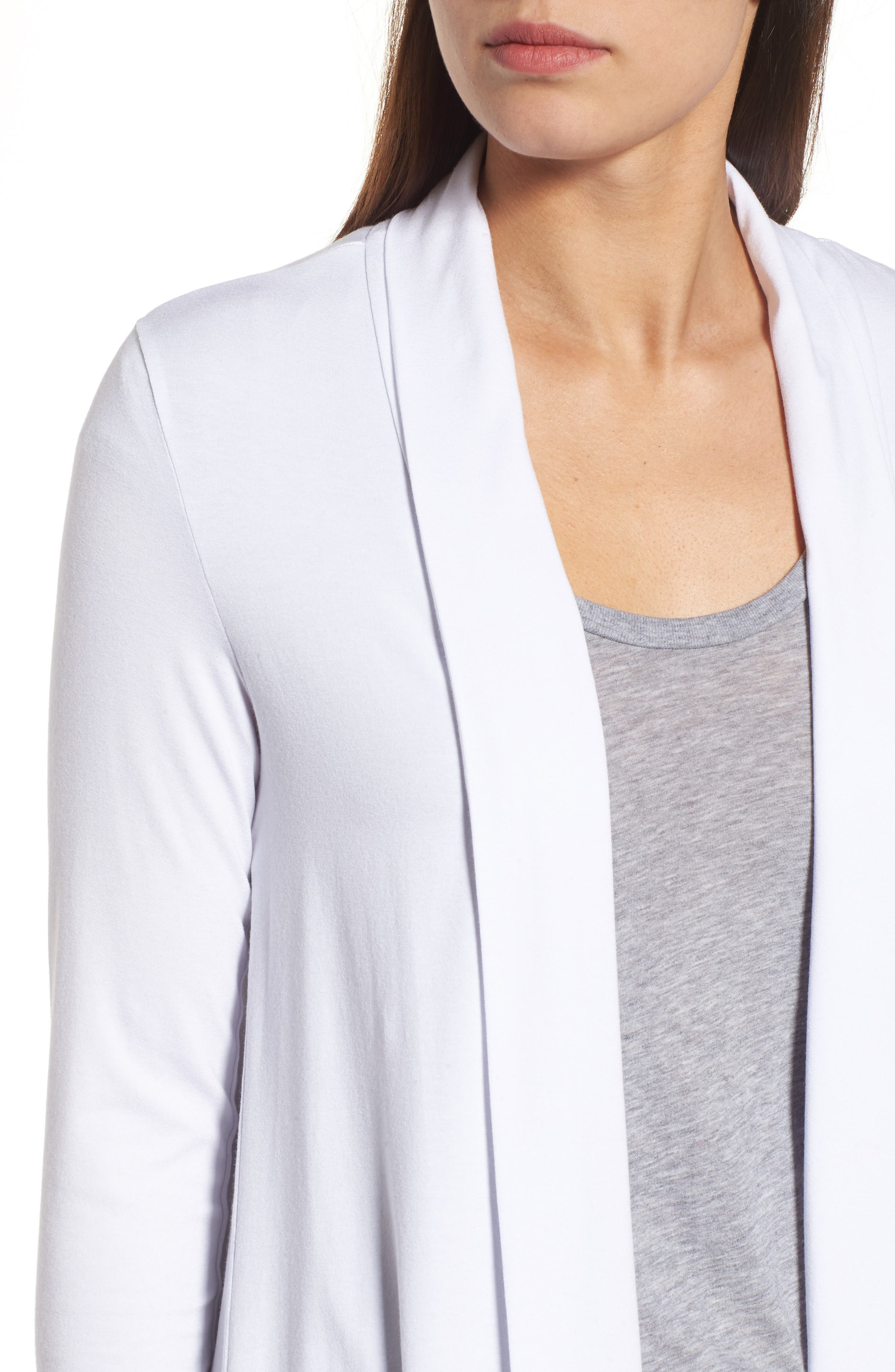 Alternate Image 4  - Vince Camuto Open Front Cardigan