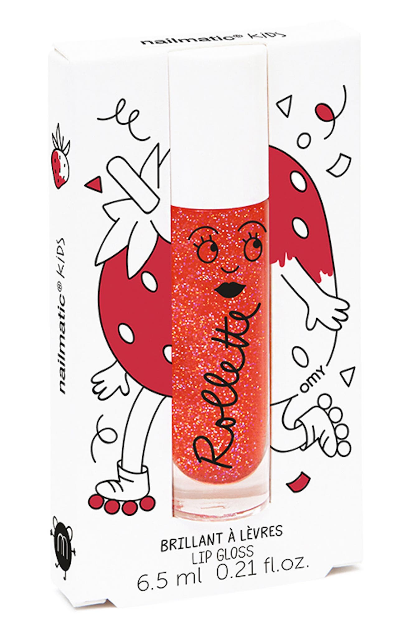 Flavored Lip Gloss,                         Main,                         color, Red