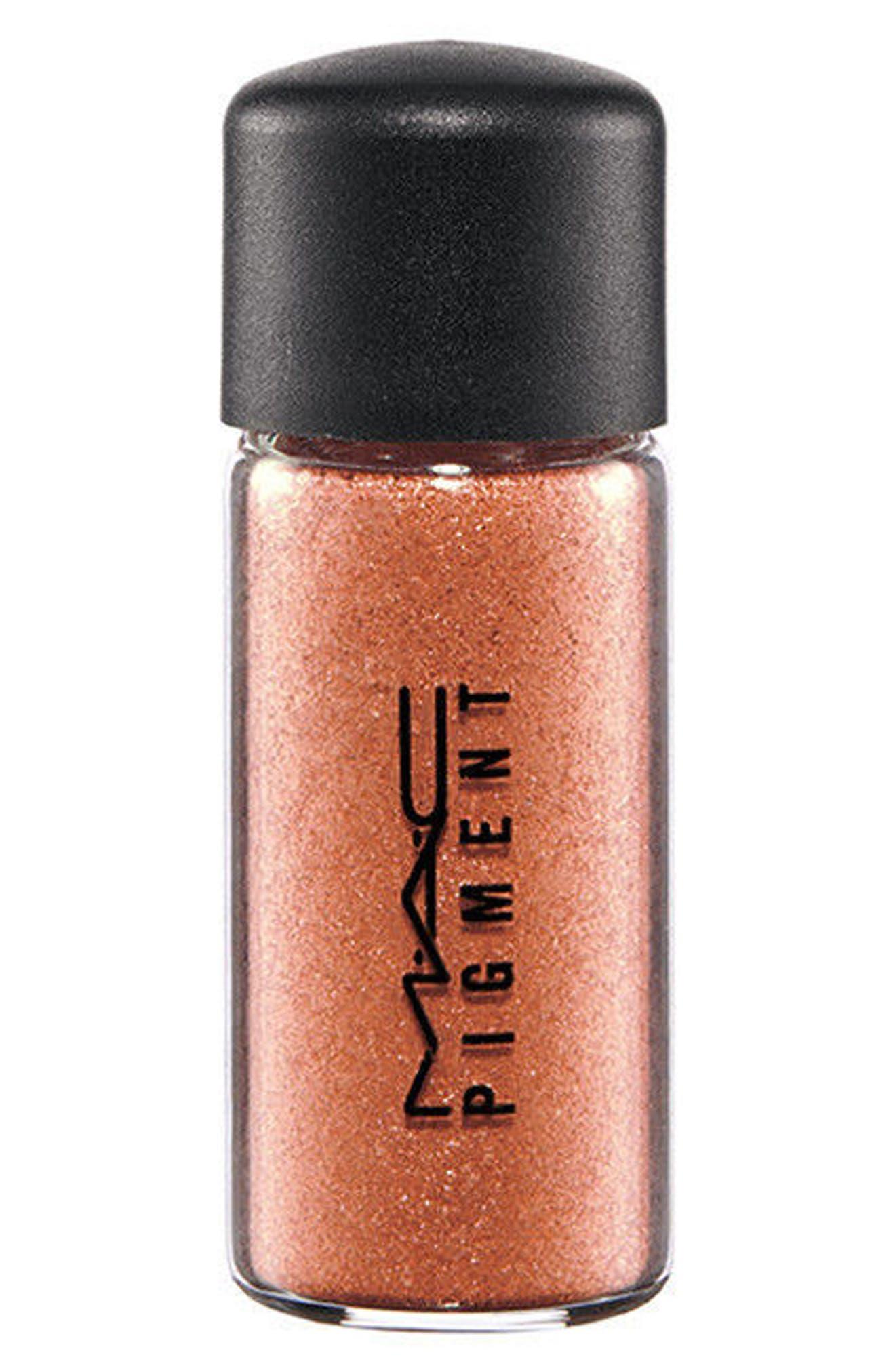 MAC Little MAC Mini Pigment,                             Main thumbnail 1, color,                             Copper Sparkle