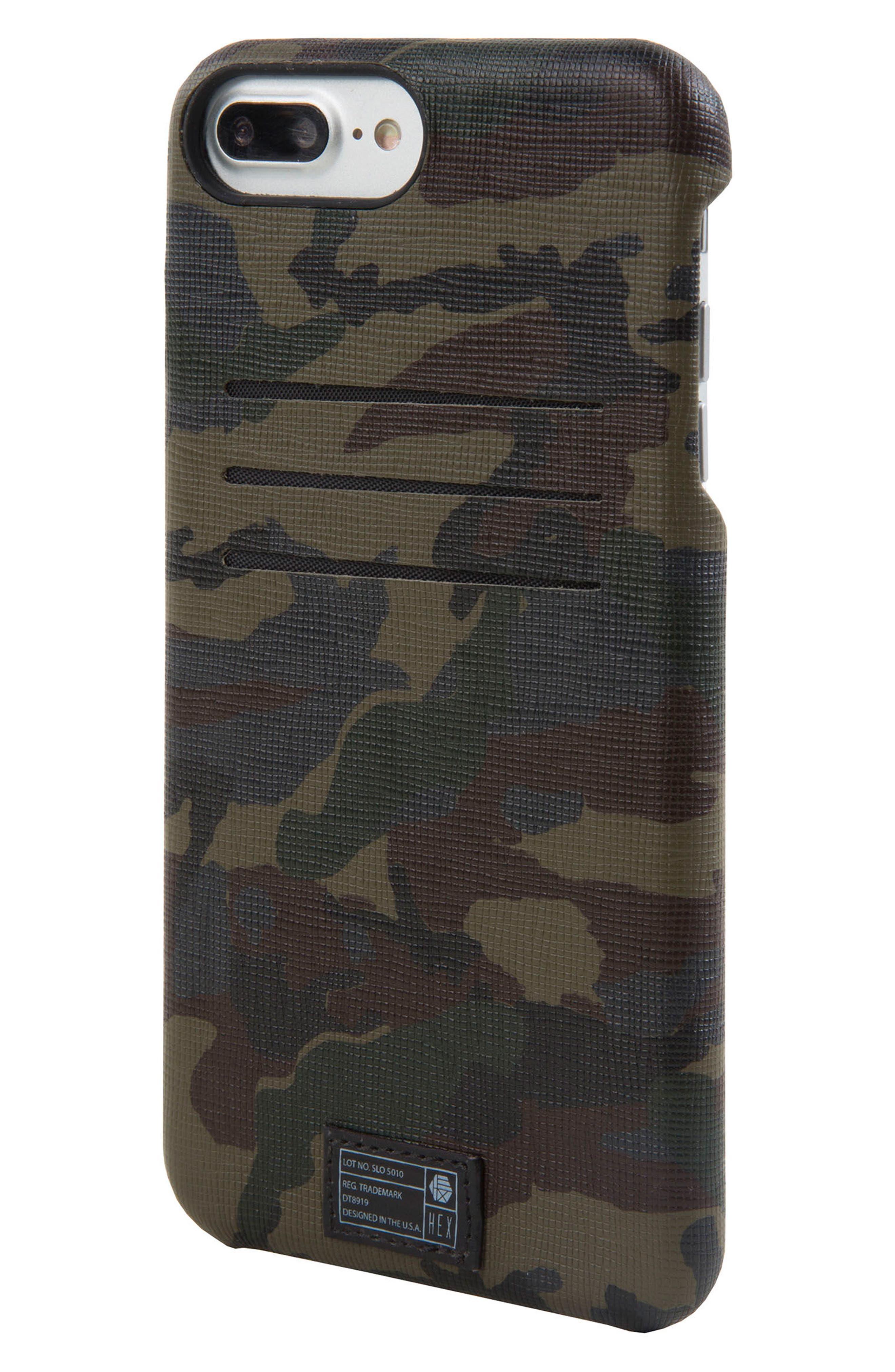 Hex Solo iPhone 6/6s/7/8 Plus Wallet Case