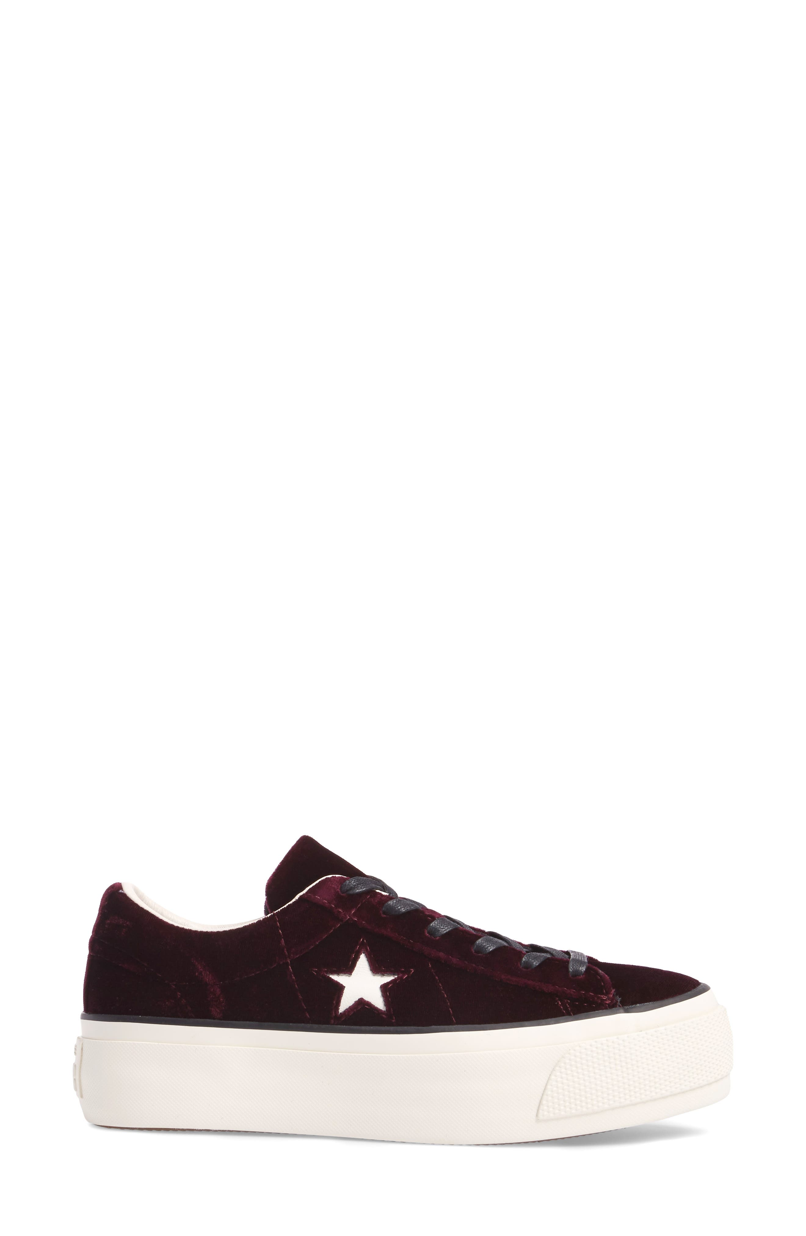 Alternate Image 3  - Converse Chuck Taylor® One Star Platform Sneaker (Women)