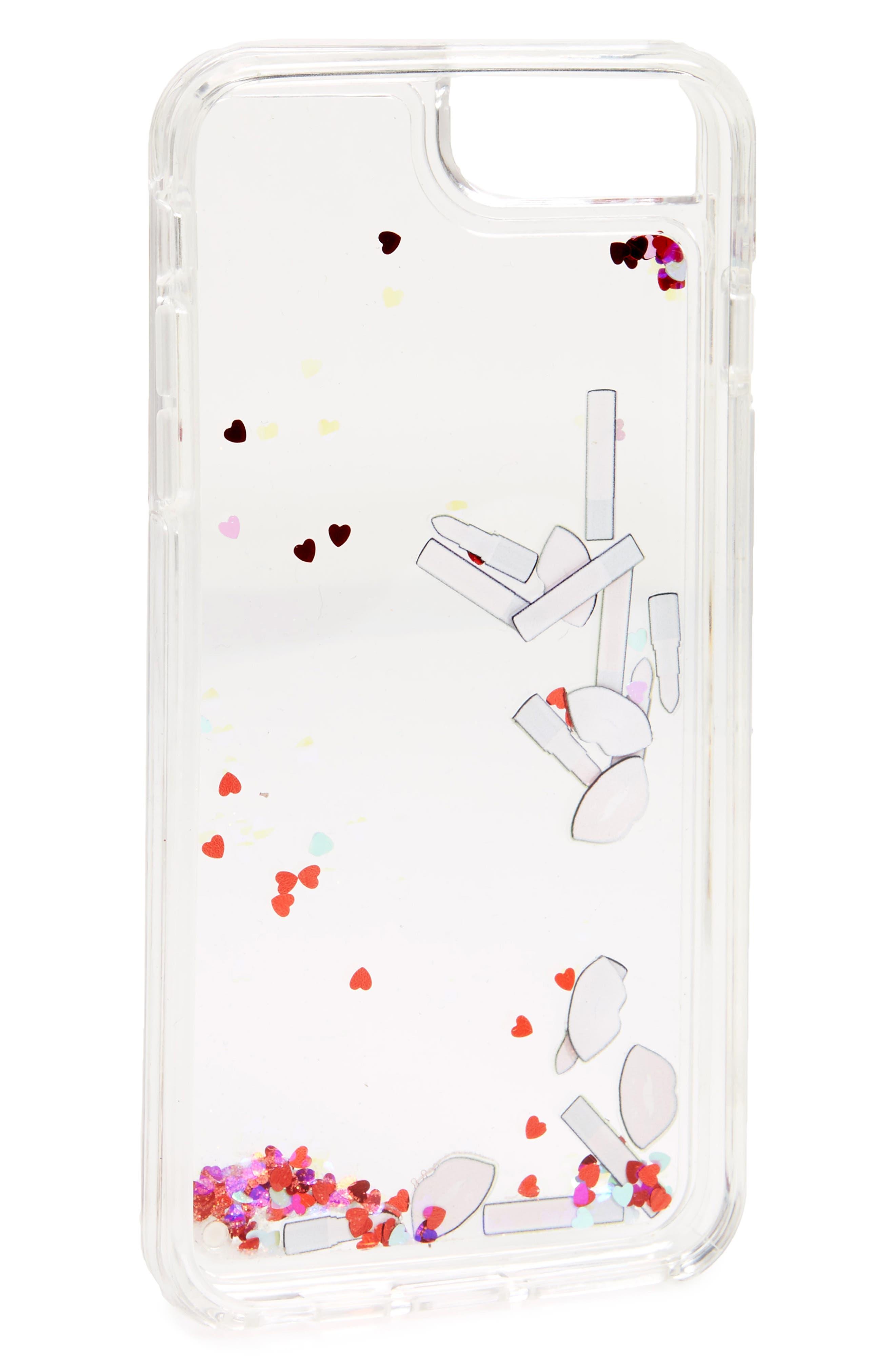Alternate Image 2  - Velvet Caviar Makeup Bag Floating iPhone 7/8 Plus Case