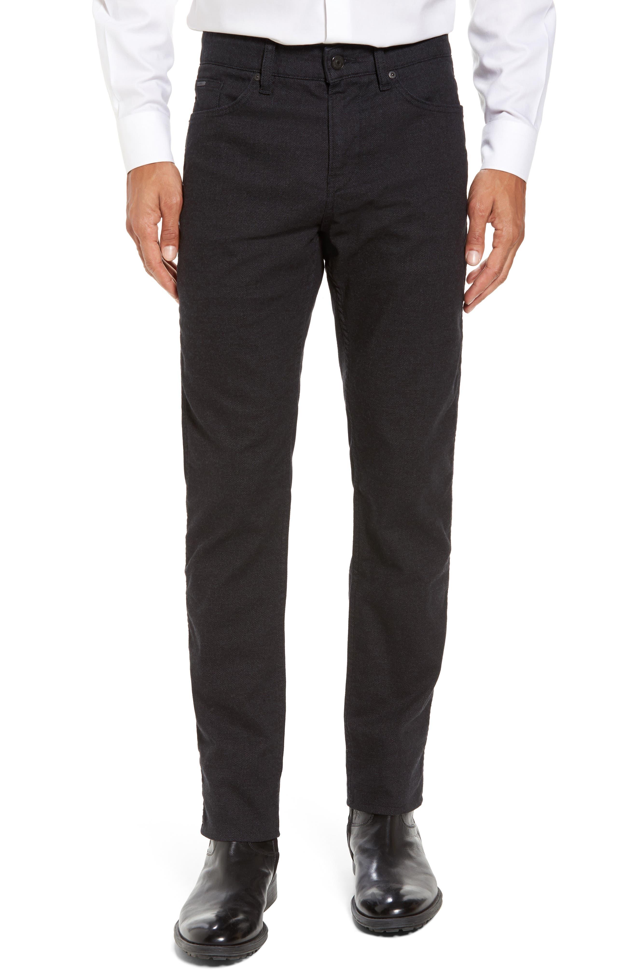 Alternate Image 1 Selected - BOSS Delaware Slim 5-Pocket Pants