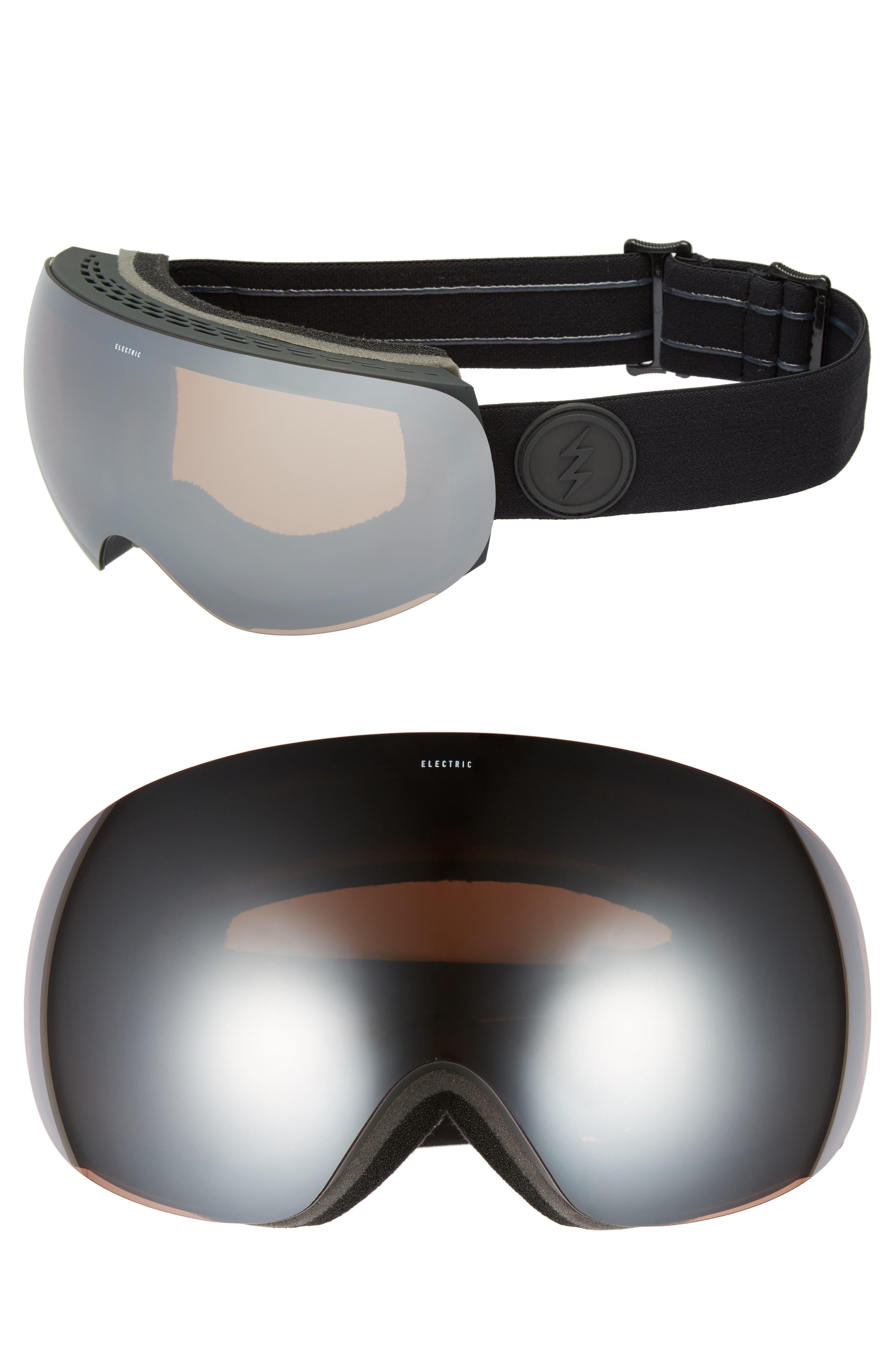 EG3 Snow Goggles,                         Main,                         color, Matte Black/ Silver Chrome
