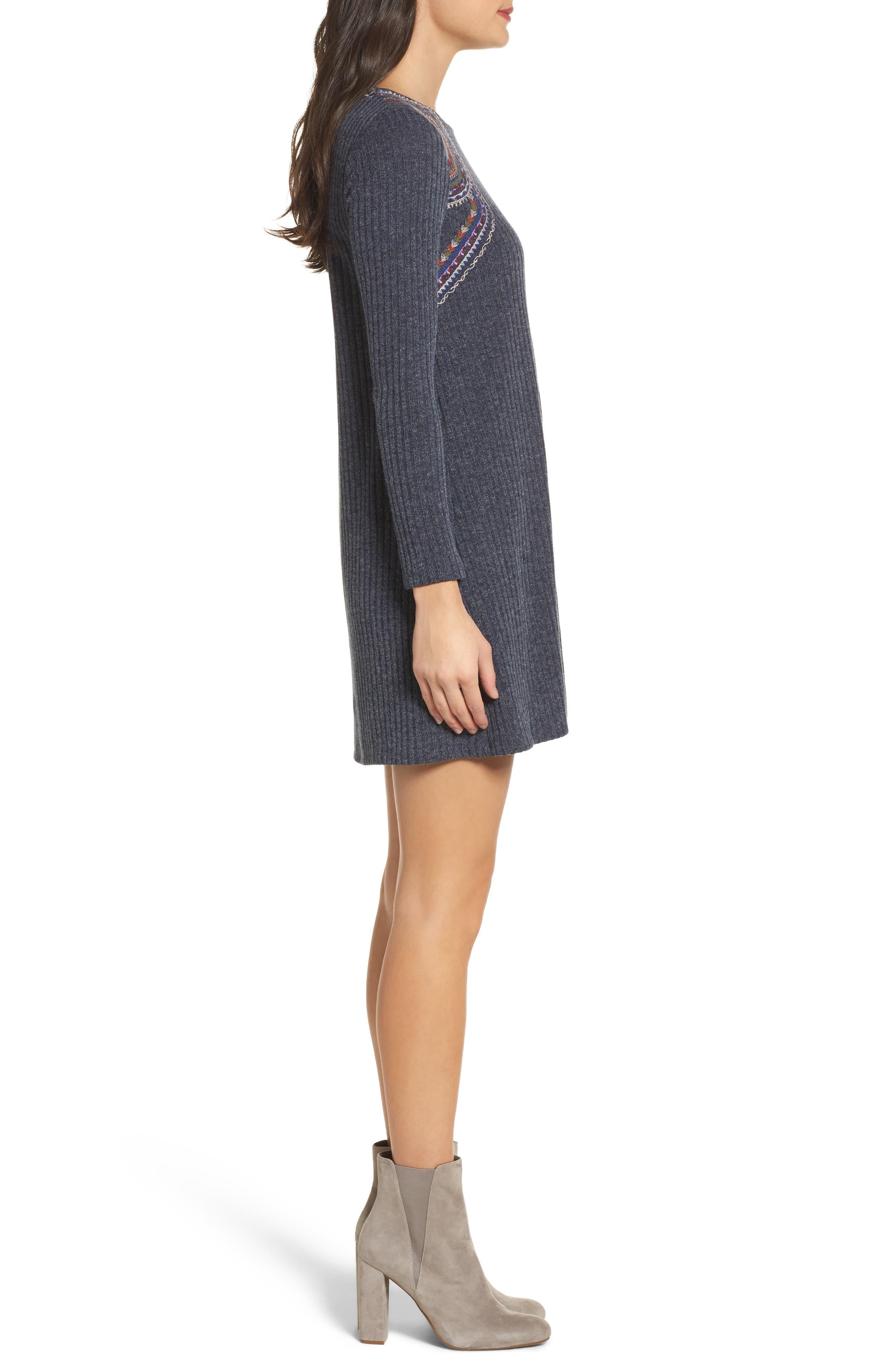 Alternate Image 3  - THML Knit Shift Dress