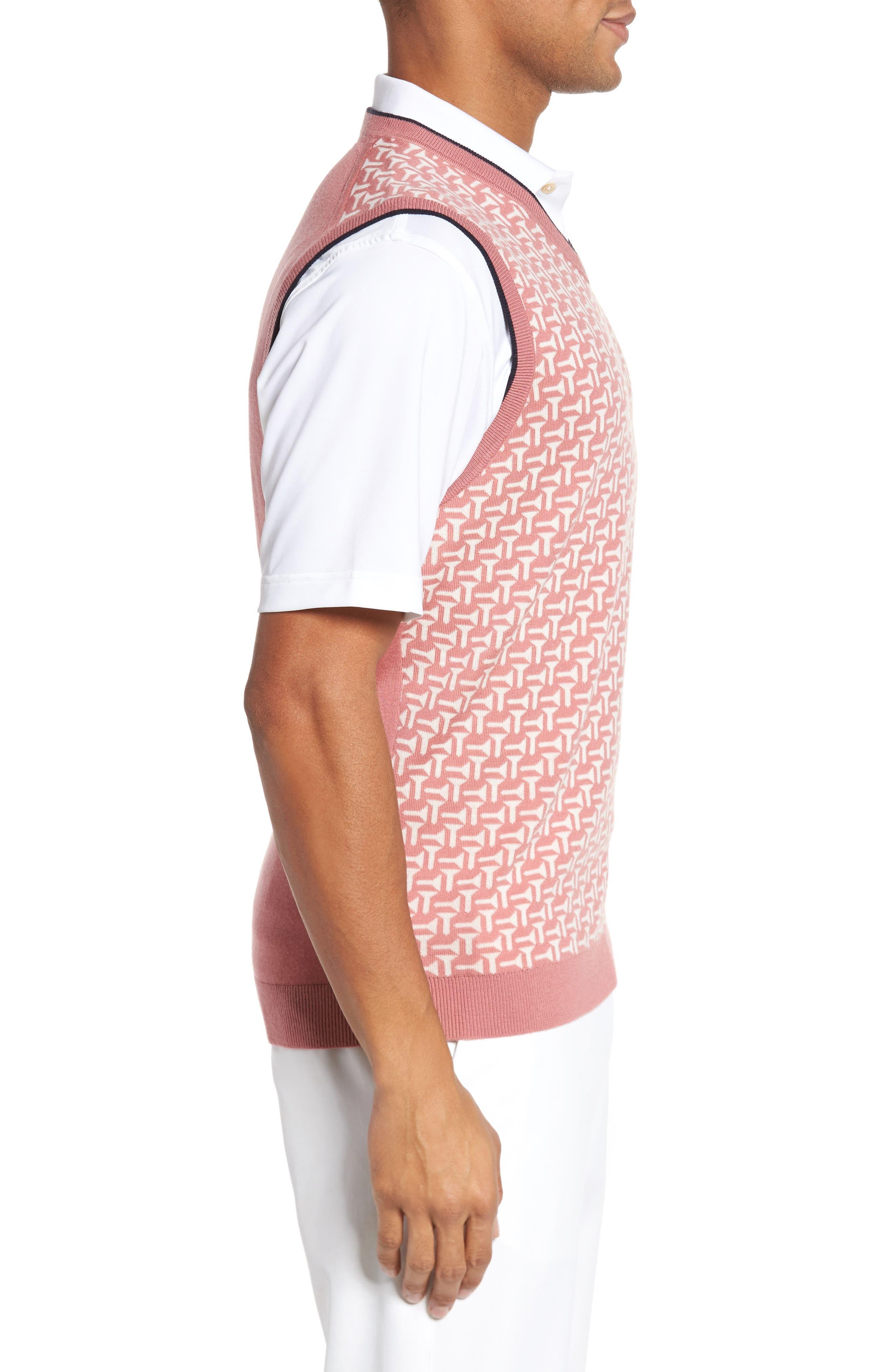 Alternate Image 3  - Ted Baker London Tommas Golf Merino Sweater Vest
