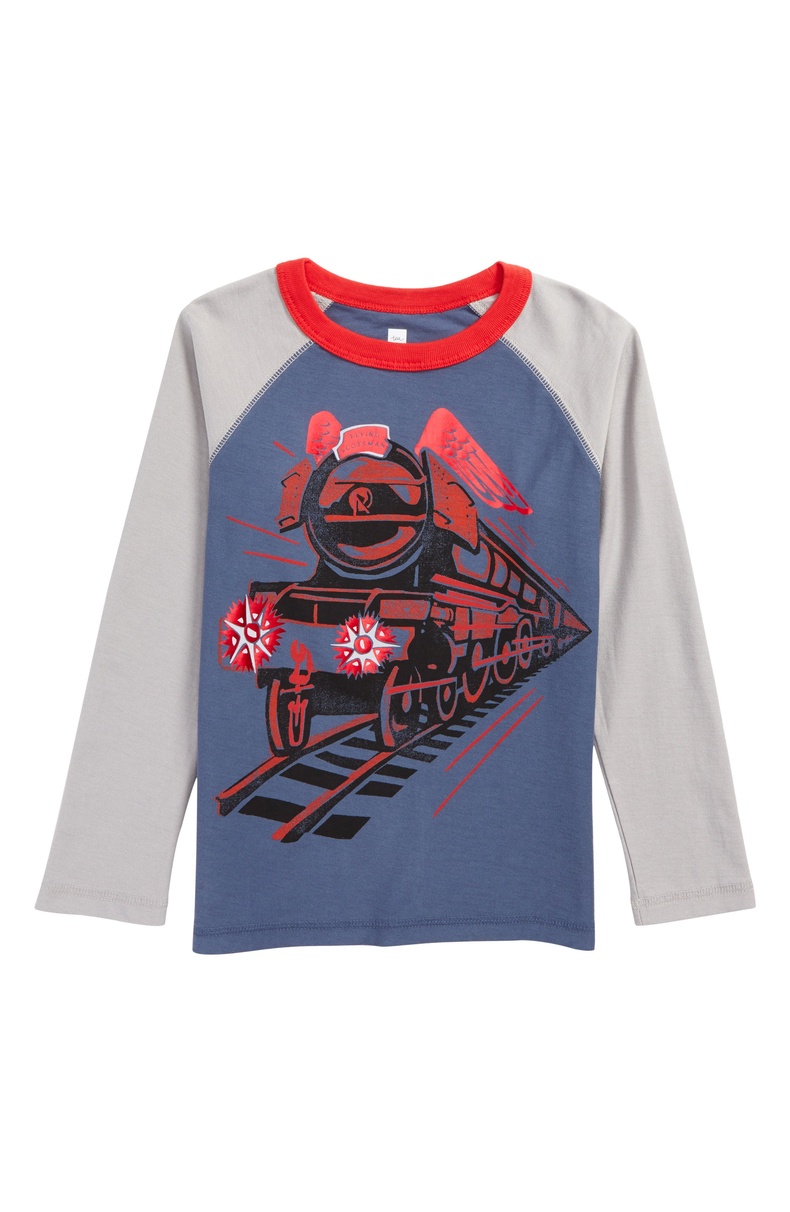 Tea Collection Flying Scotsman Graphic T-Shirt (Toddler Boys & Little Boys)