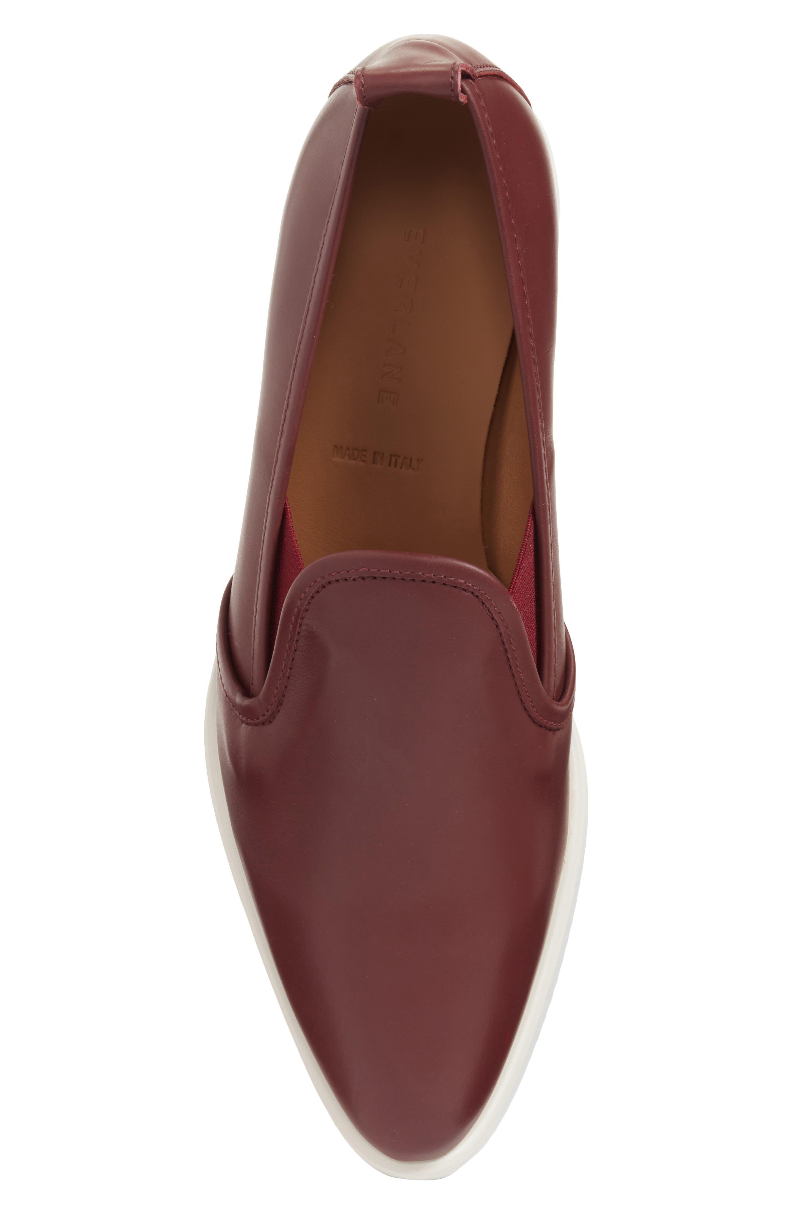 Alternate Image 5  - Everlane The Leather Street Shoe (Women)