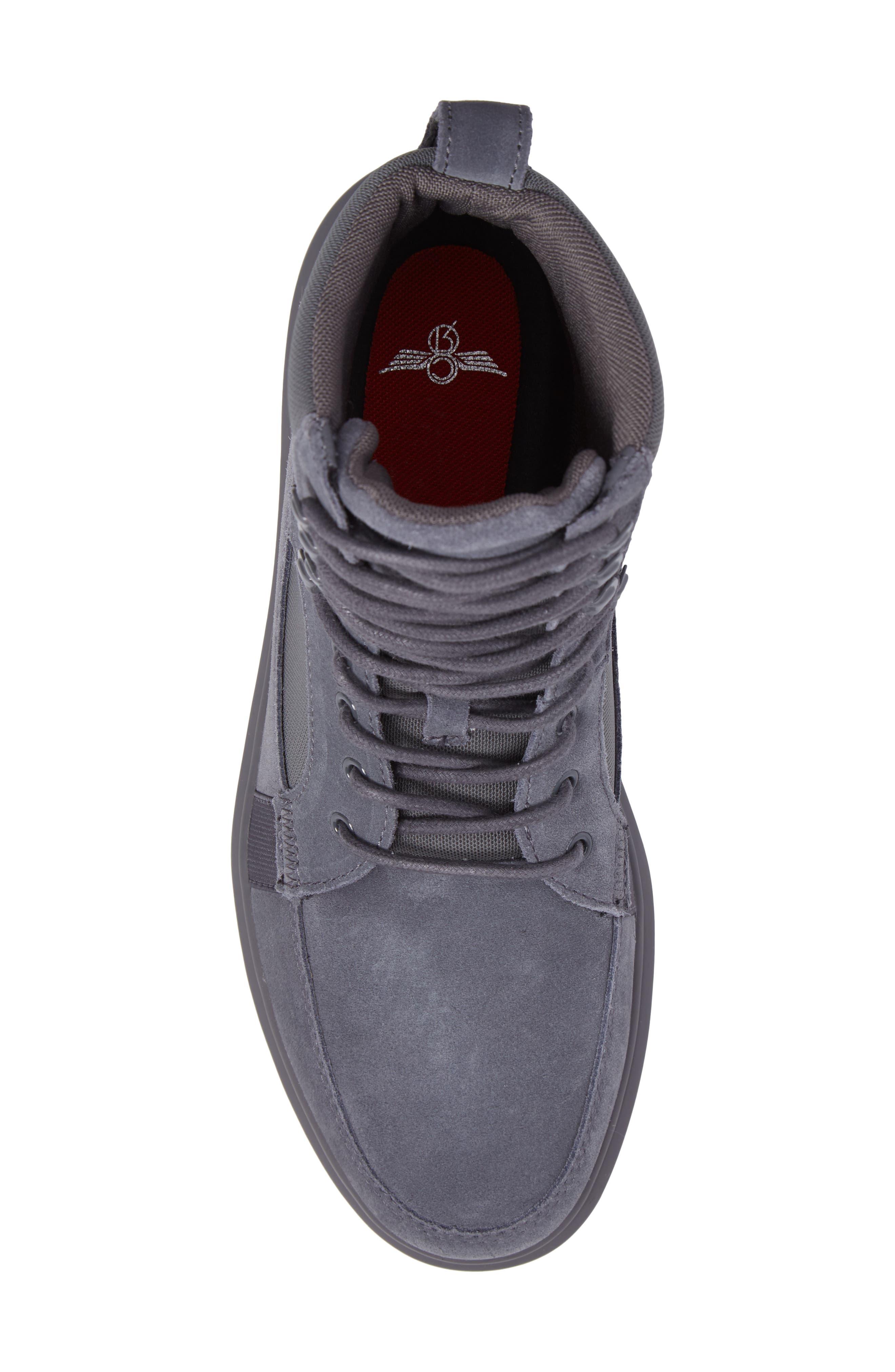 Desimo Sneaker,                             Alternate thumbnail 5, color,                             Smoke Leather