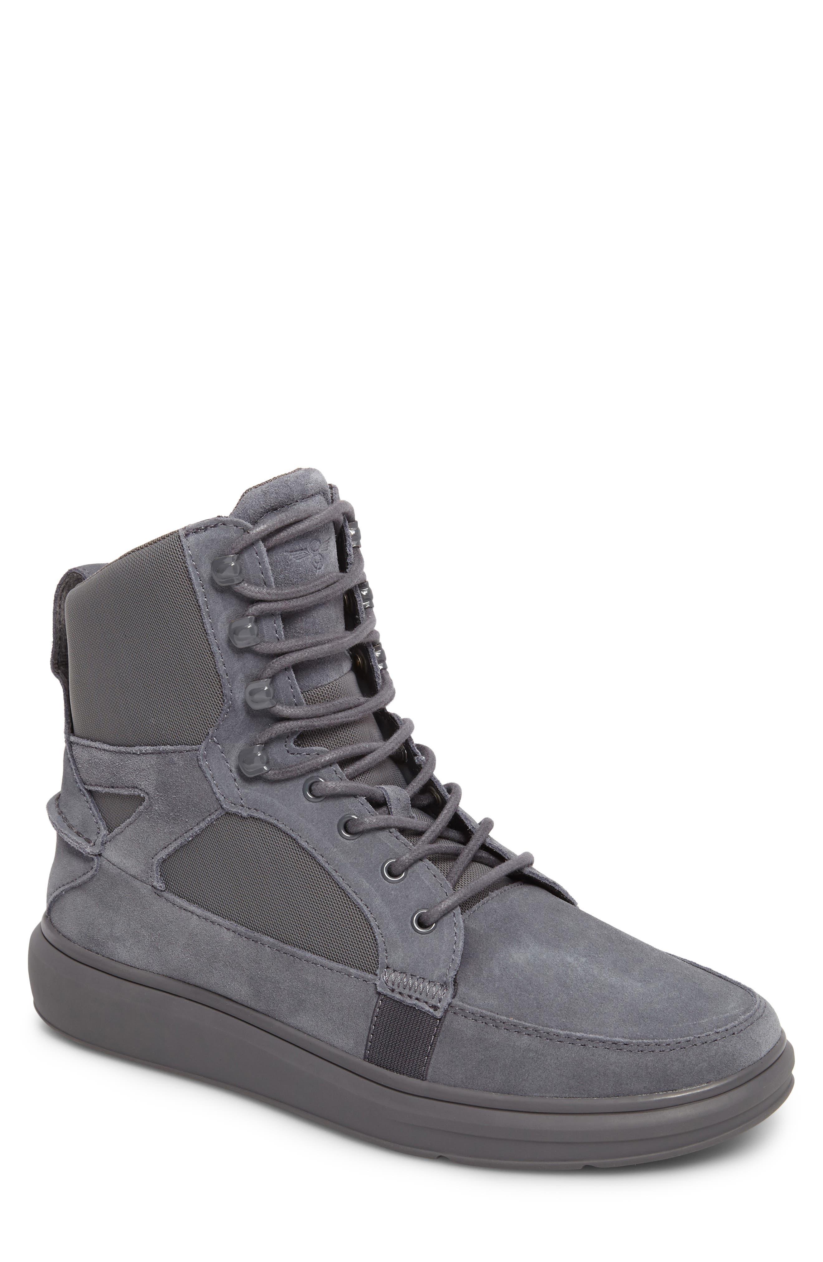 Desimo Sneaker,                             Main thumbnail 1, color,                             Smoke Leather