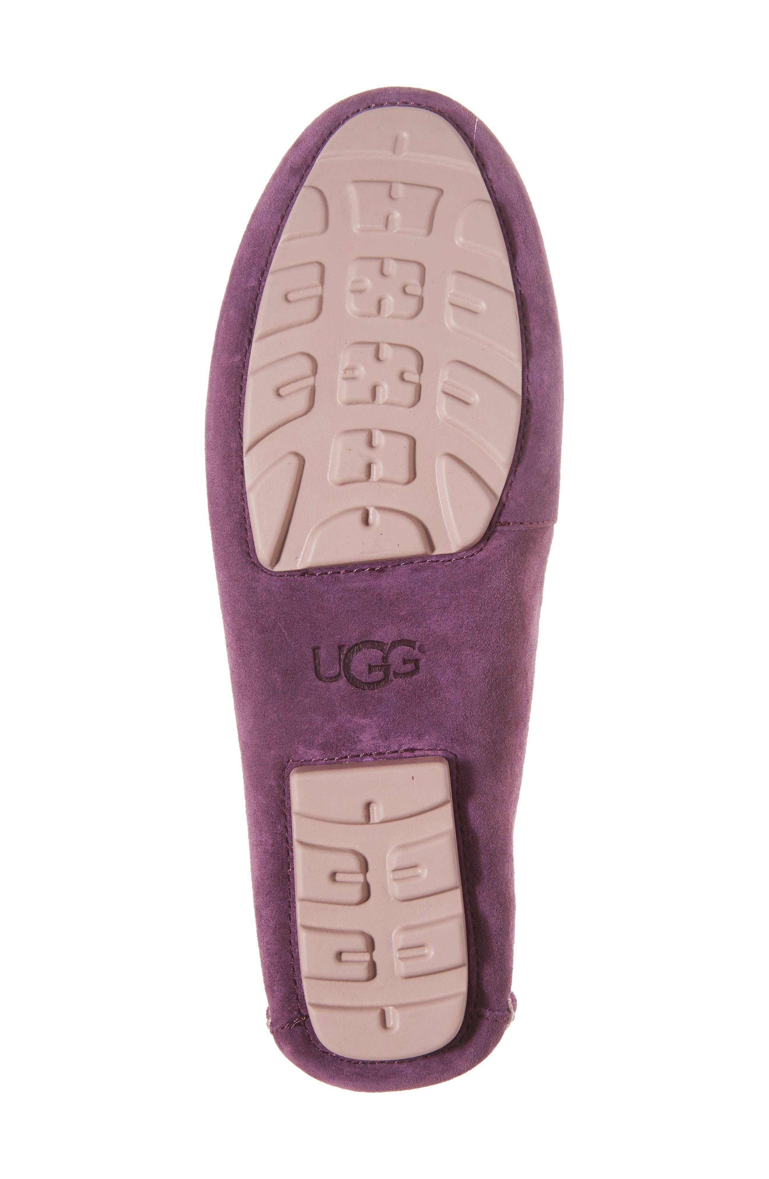 Alternate Image 6  - UGG® Milana Moc Toe Flat (Women)